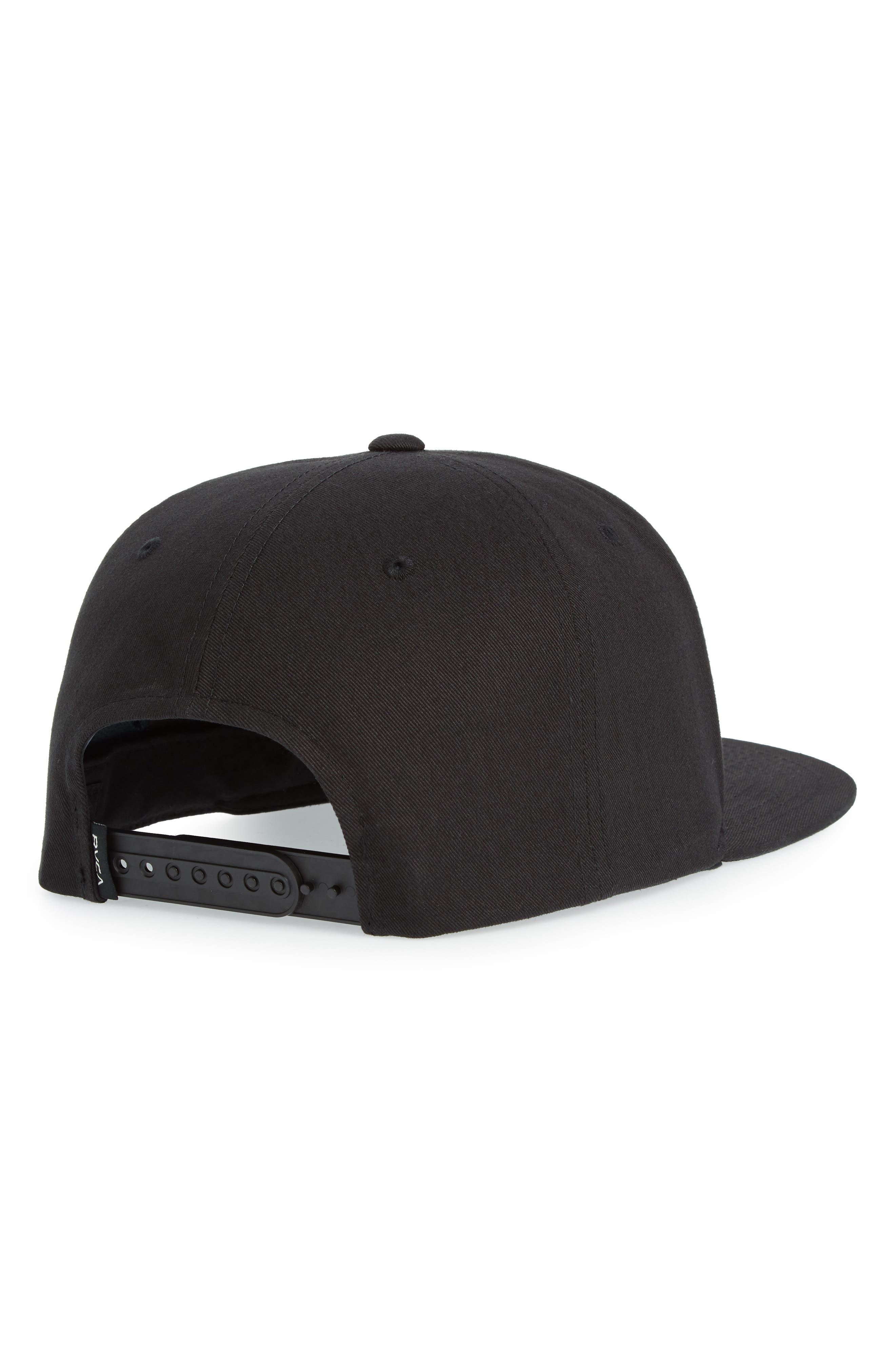 VA Snapback II Snapback Hat,                             Alternate thumbnail 2, color,                             BLACK/ BLACK