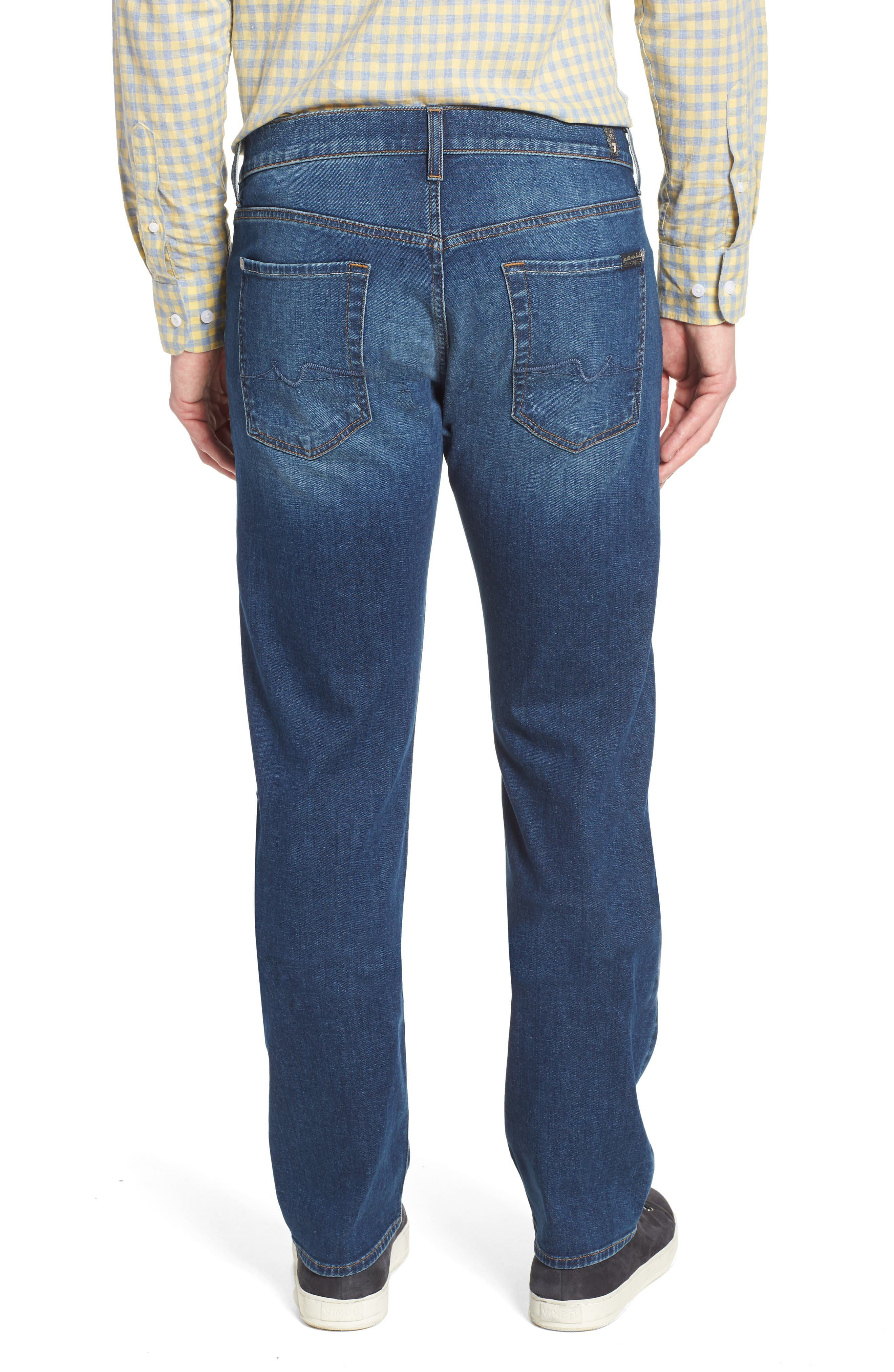 Standard Straight Leg Jeans,                             Alternate thumbnail 2, color,                             400