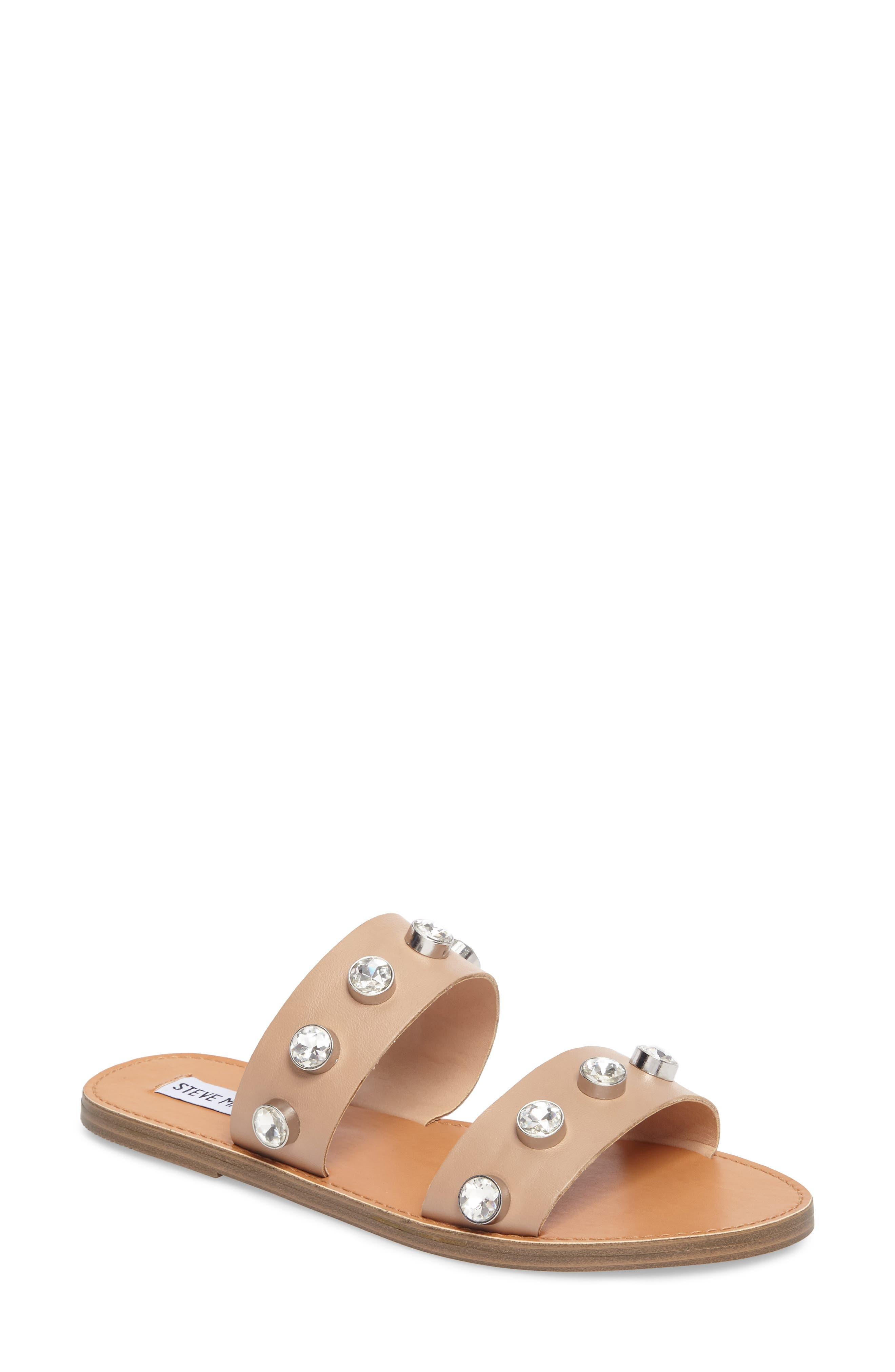 Jessy Embellished Slide Sandal,                             Main thumbnail 2, color,