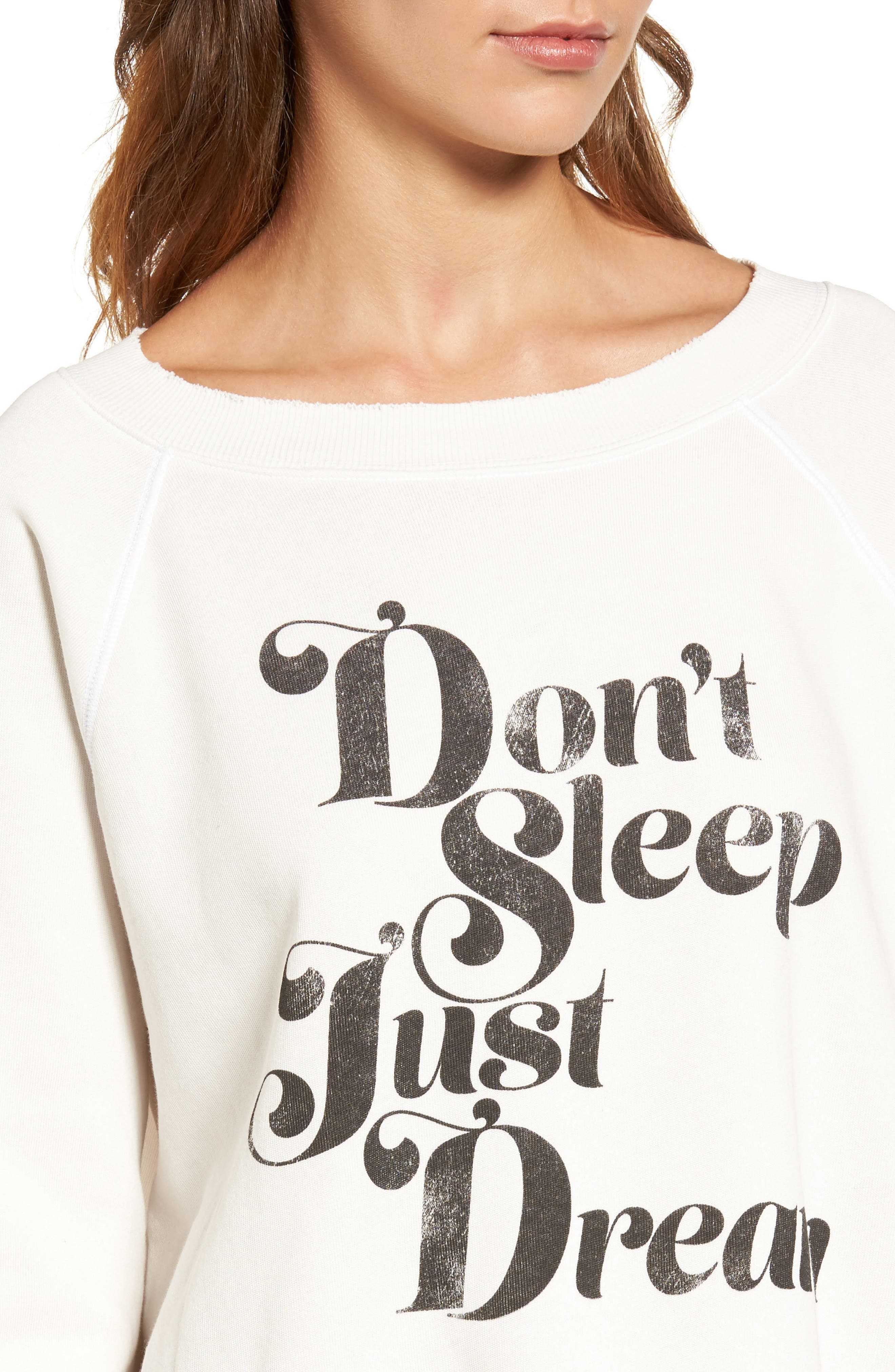 WILDFOX,                             Sommers Sweater - Just Dream Pullover,                             Alternate thumbnail 4, color,                             020