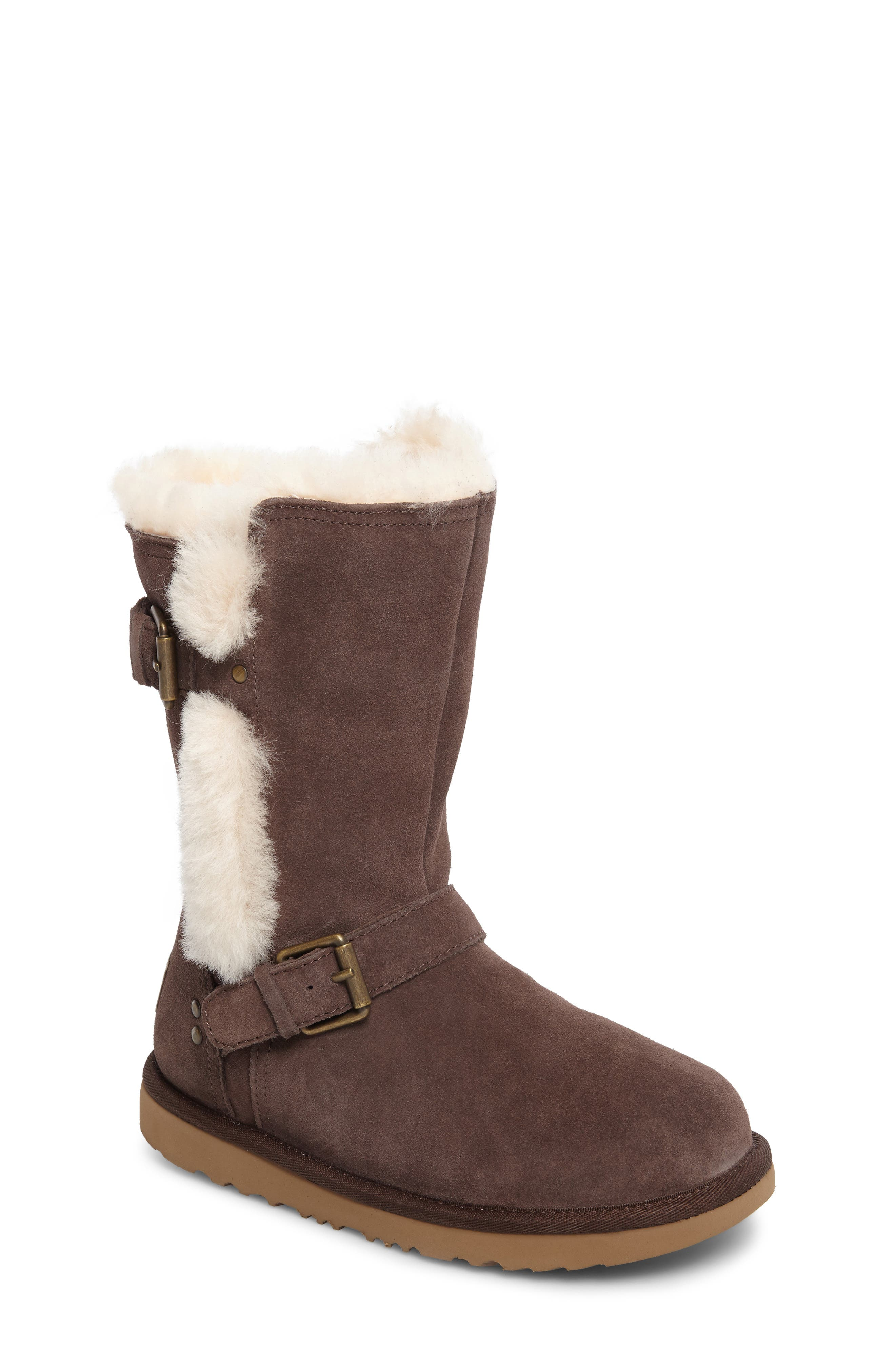 Magda Water Resistant Boot,                         Main,                         color, CHOCOLATE