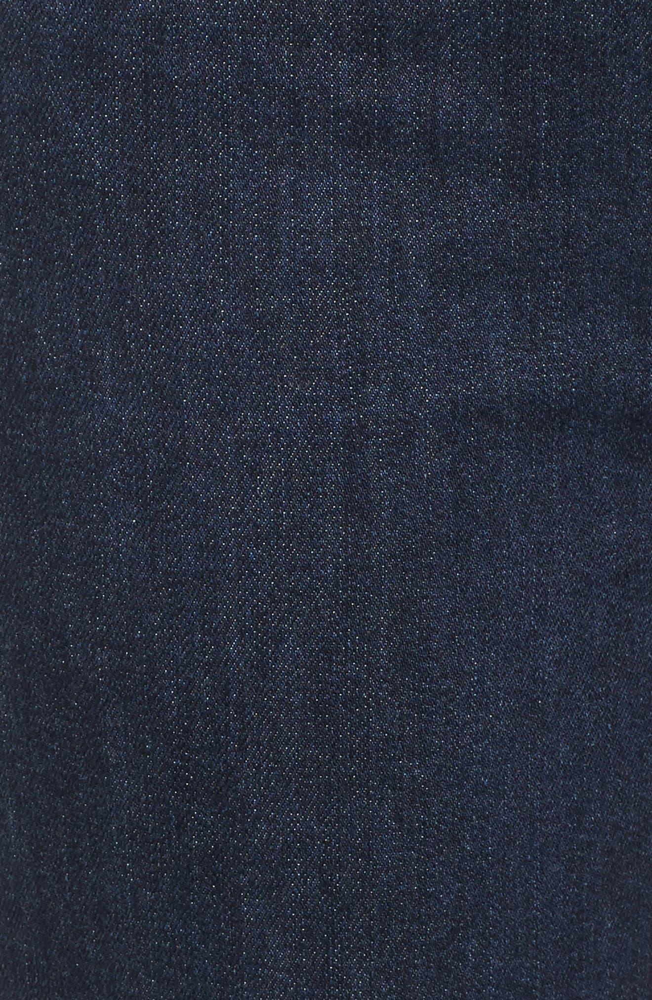 Step-Hem Straight Jeans,                             Alternate thumbnail 5, color,                             405