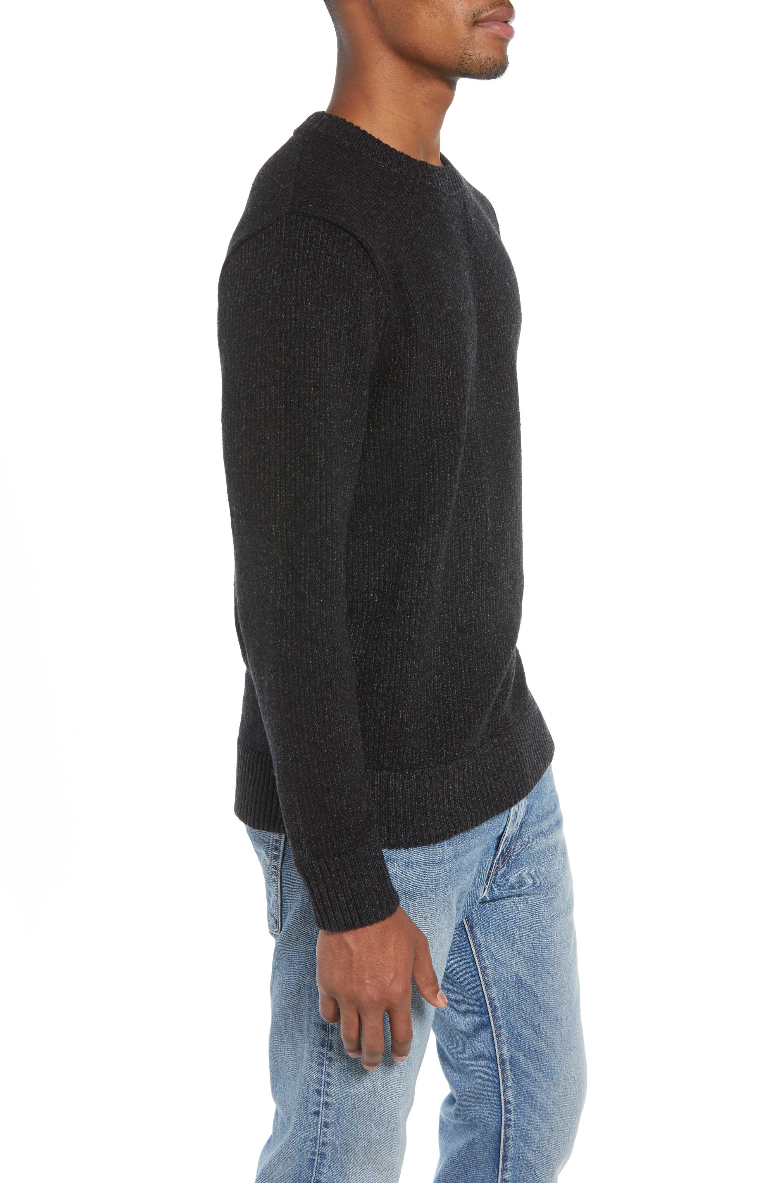 Off Country Crewneck Sweater,                             Alternate thumbnail 3, color,                             020