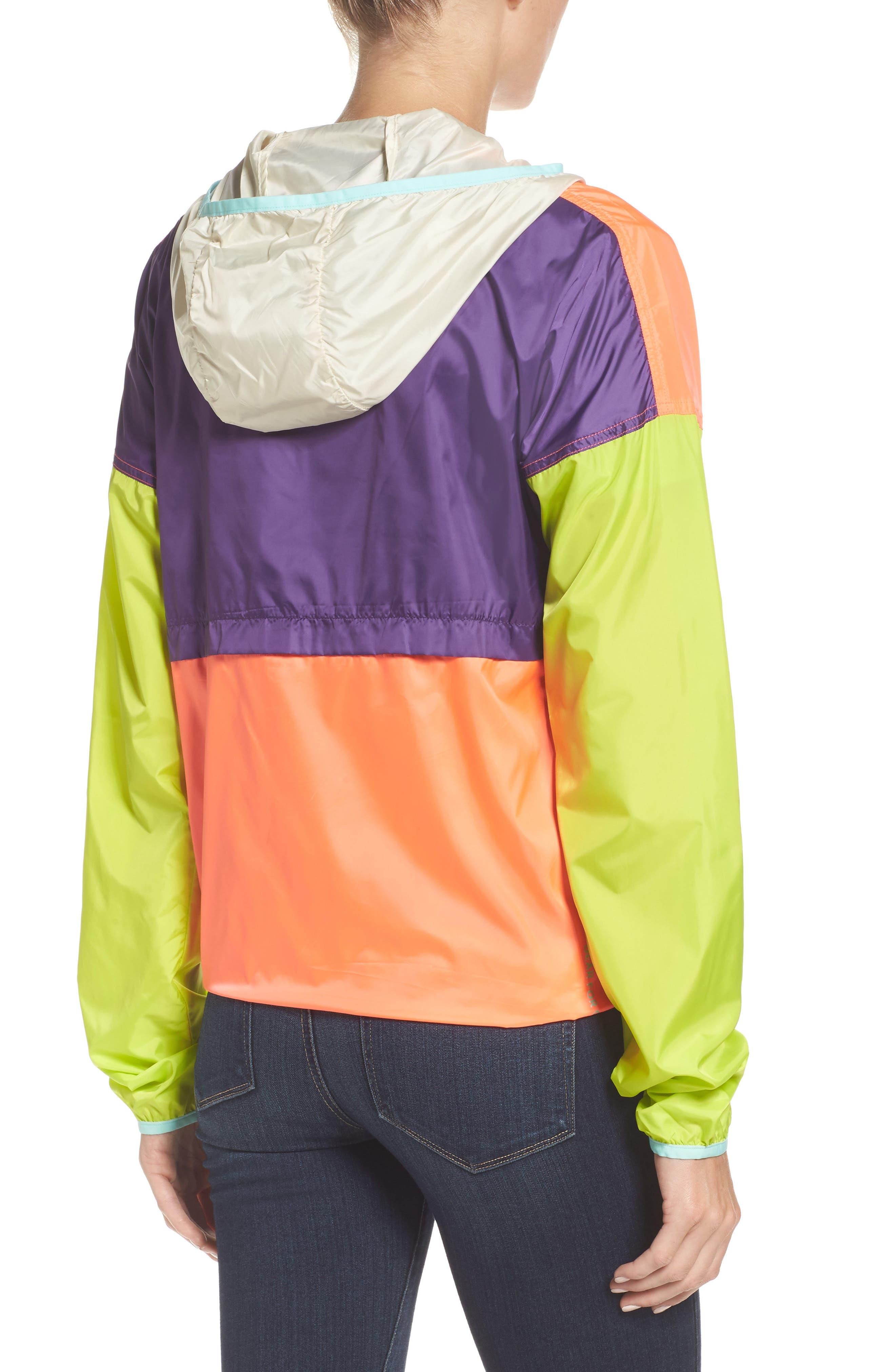 Teca Packable Water Resistant Windbreaker Jacket,                             Alternate thumbnail 8, color,