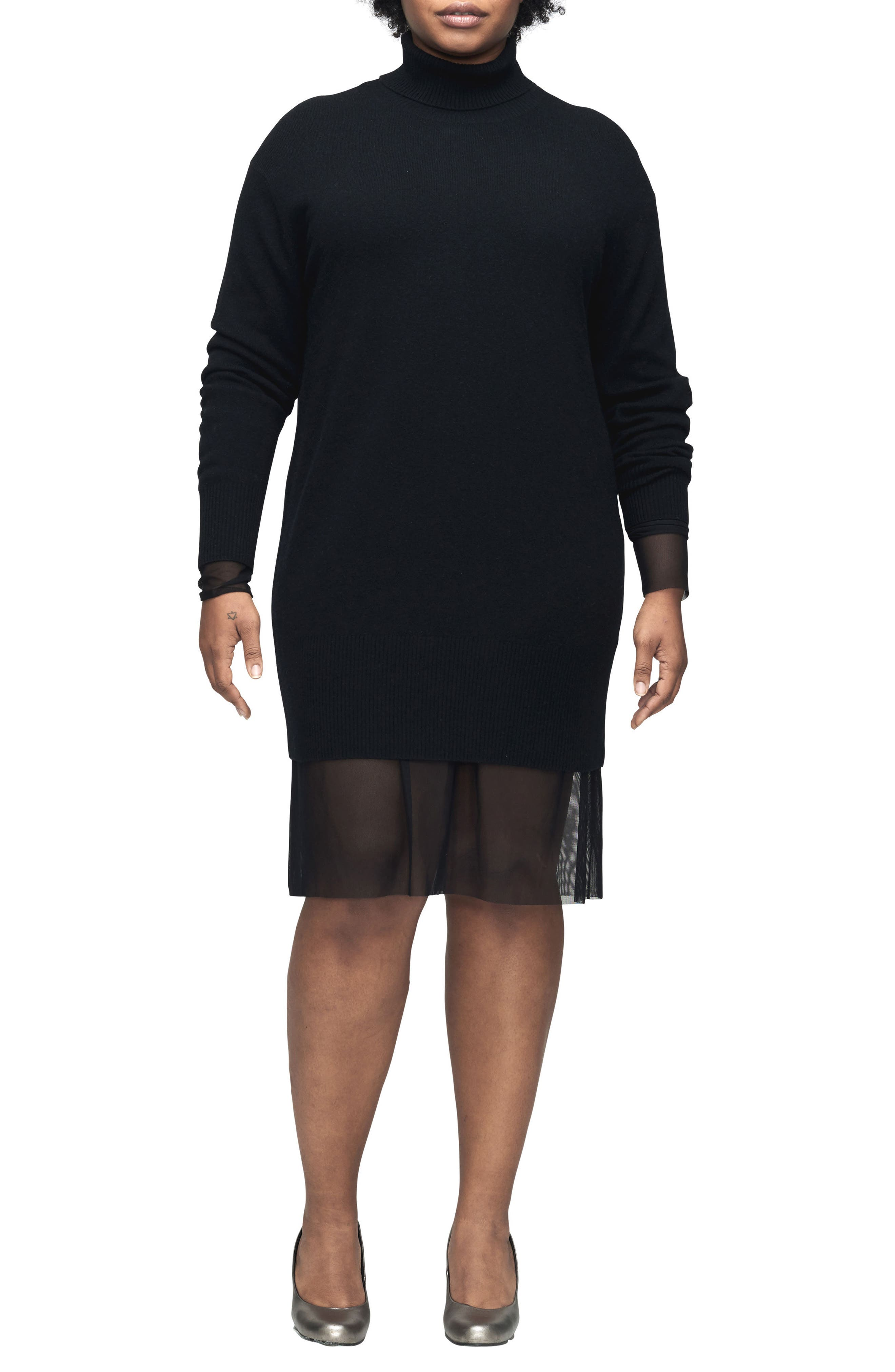 Wheaton Turtleneck Sweater,                             Main thumbnail 1, color,                             001