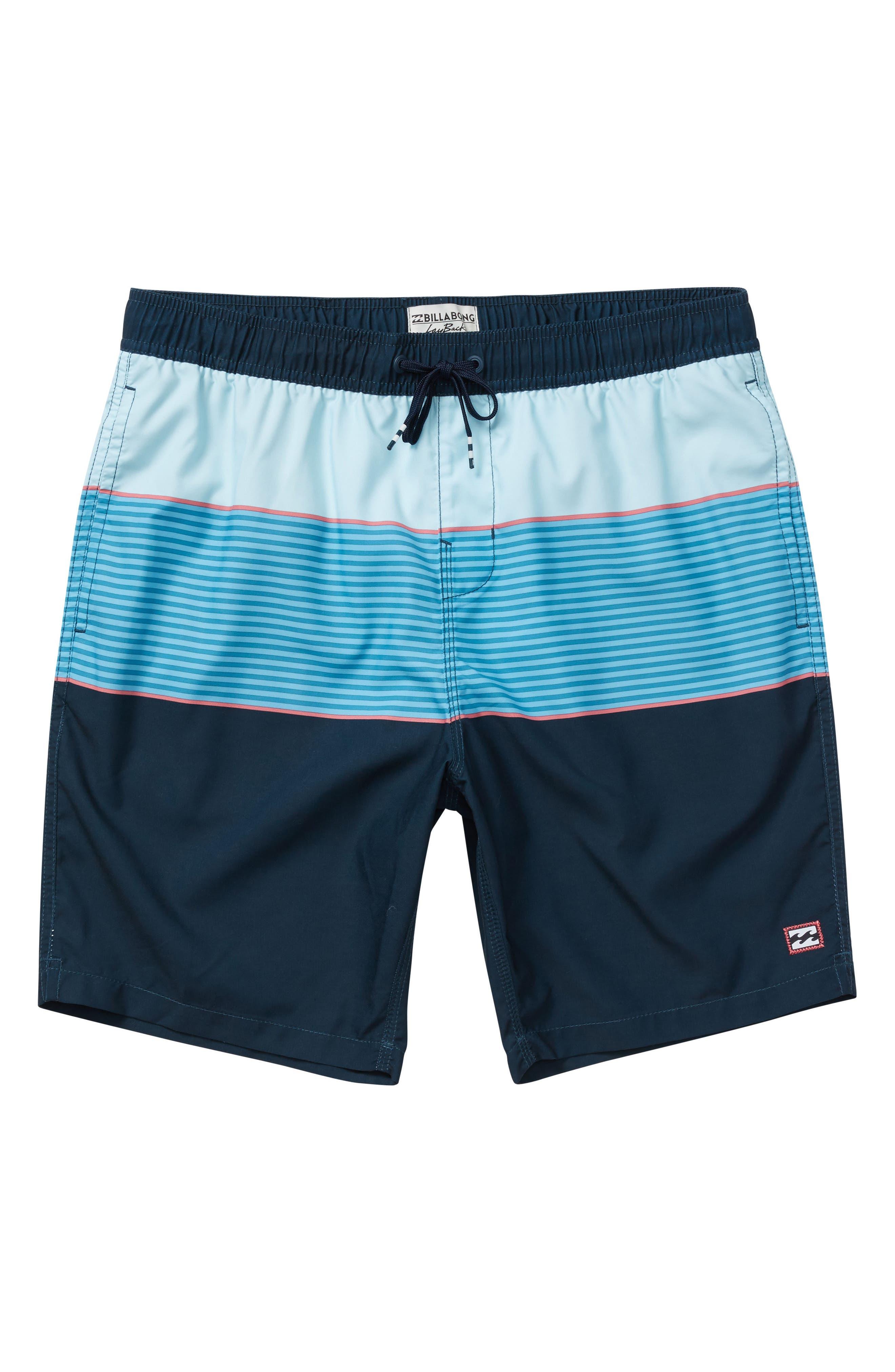 Tribong Layback Board Shorts,                             Main thumbnail 1, color,                             428
