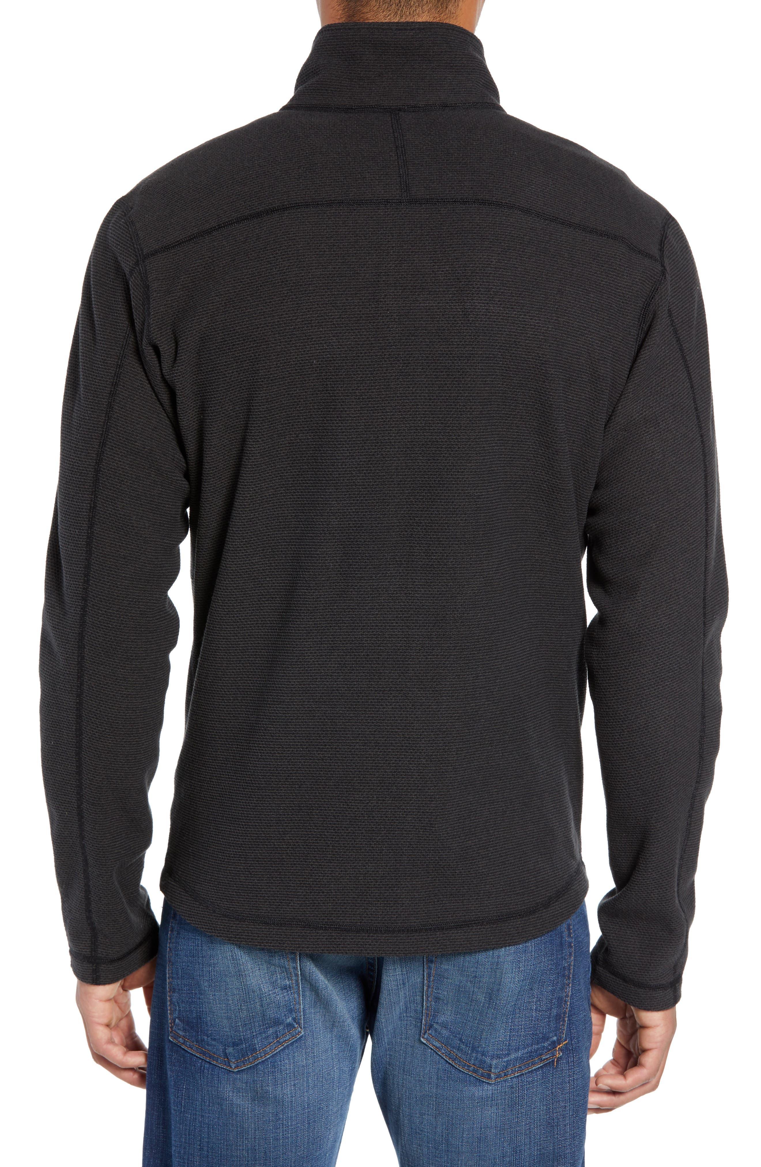 Texture Cap Rock Fleece Jacket,                             Alternate thumbnail 2, color,                             TNF BLACK