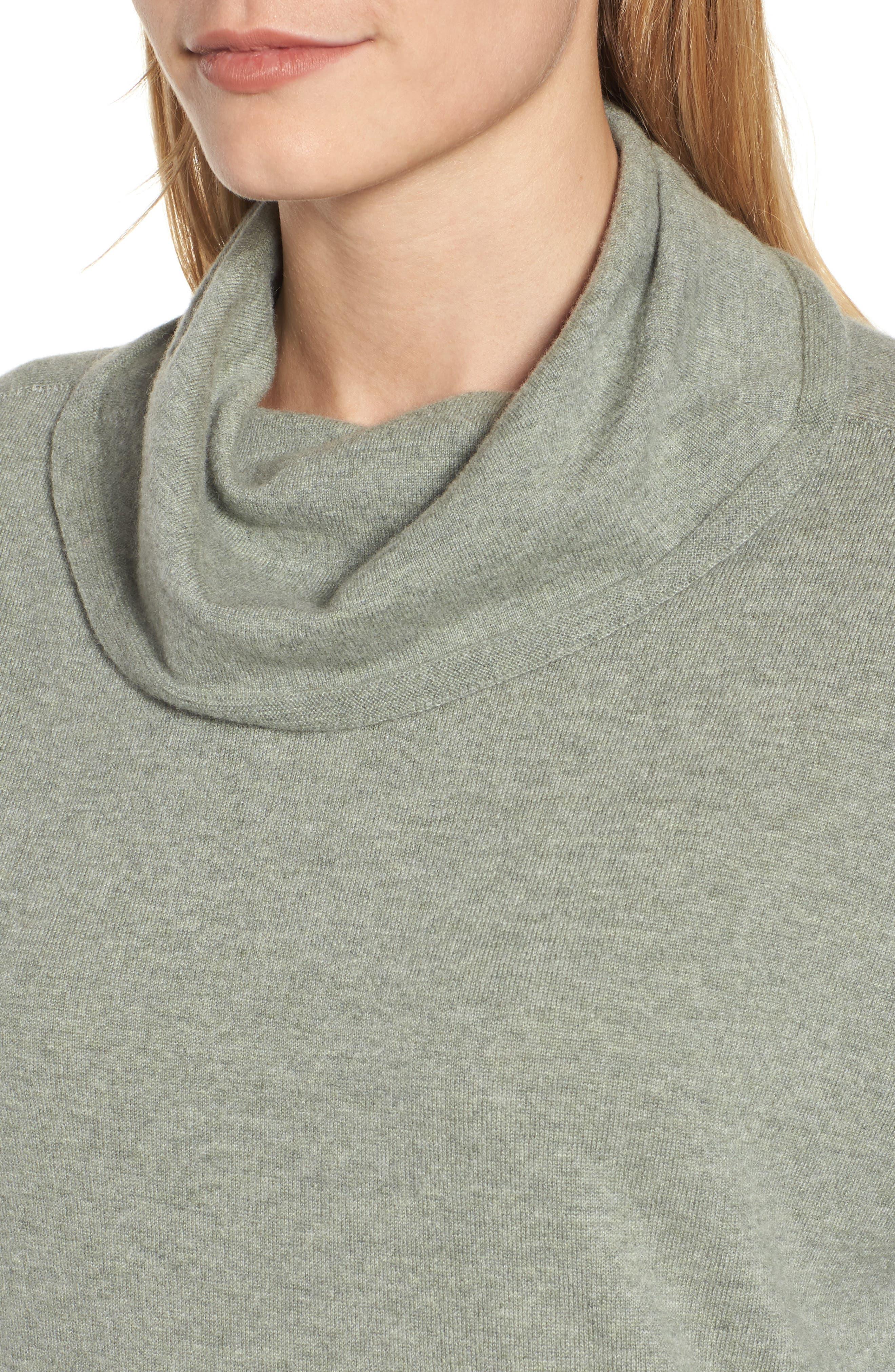 Boxy Cashmere Sweater,                             Alternate thumbnail 4, color,                             094