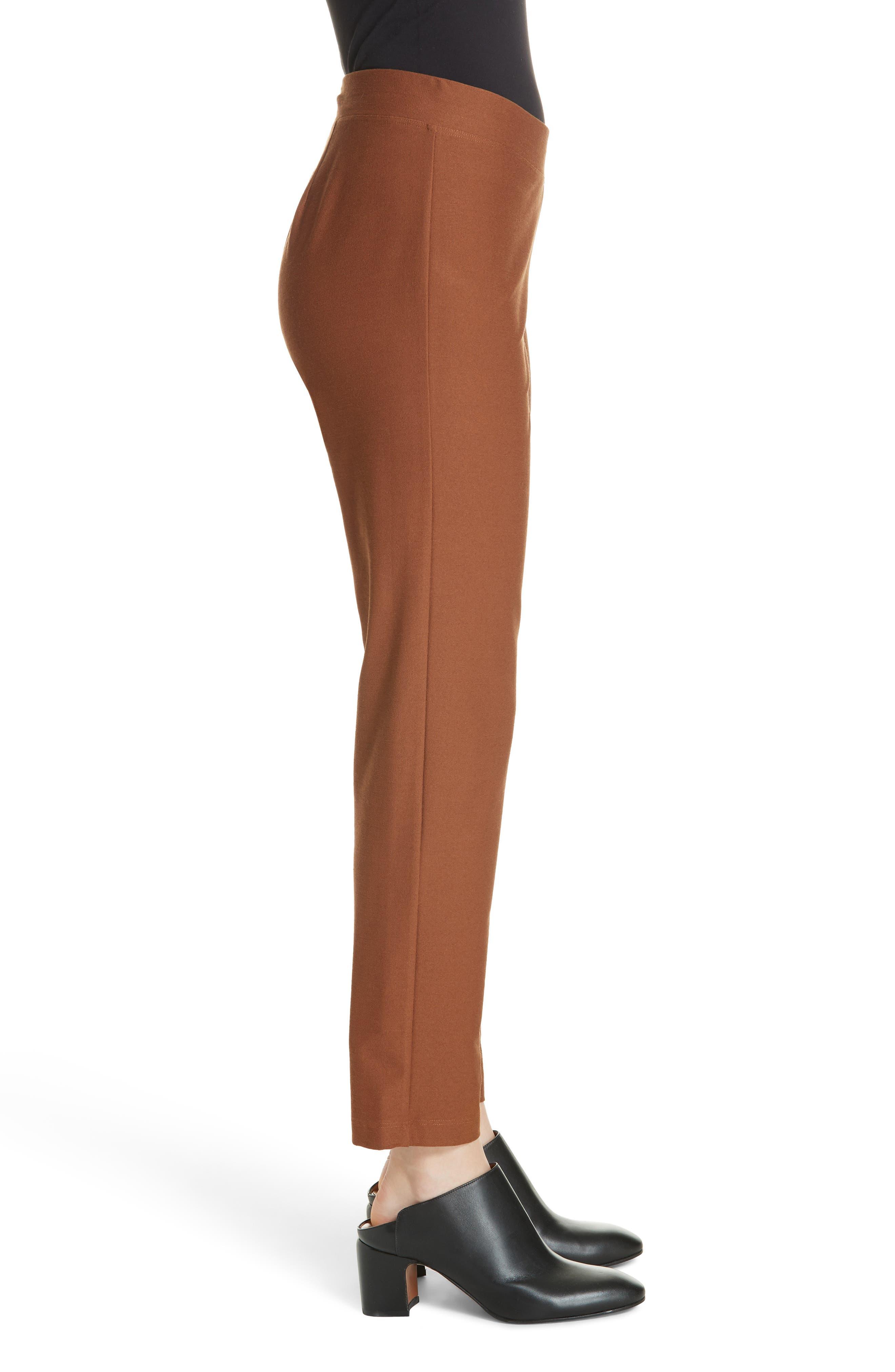 Stretch Crepe Slim Ankle Pants,                             Alternate thumbnail 50, color,