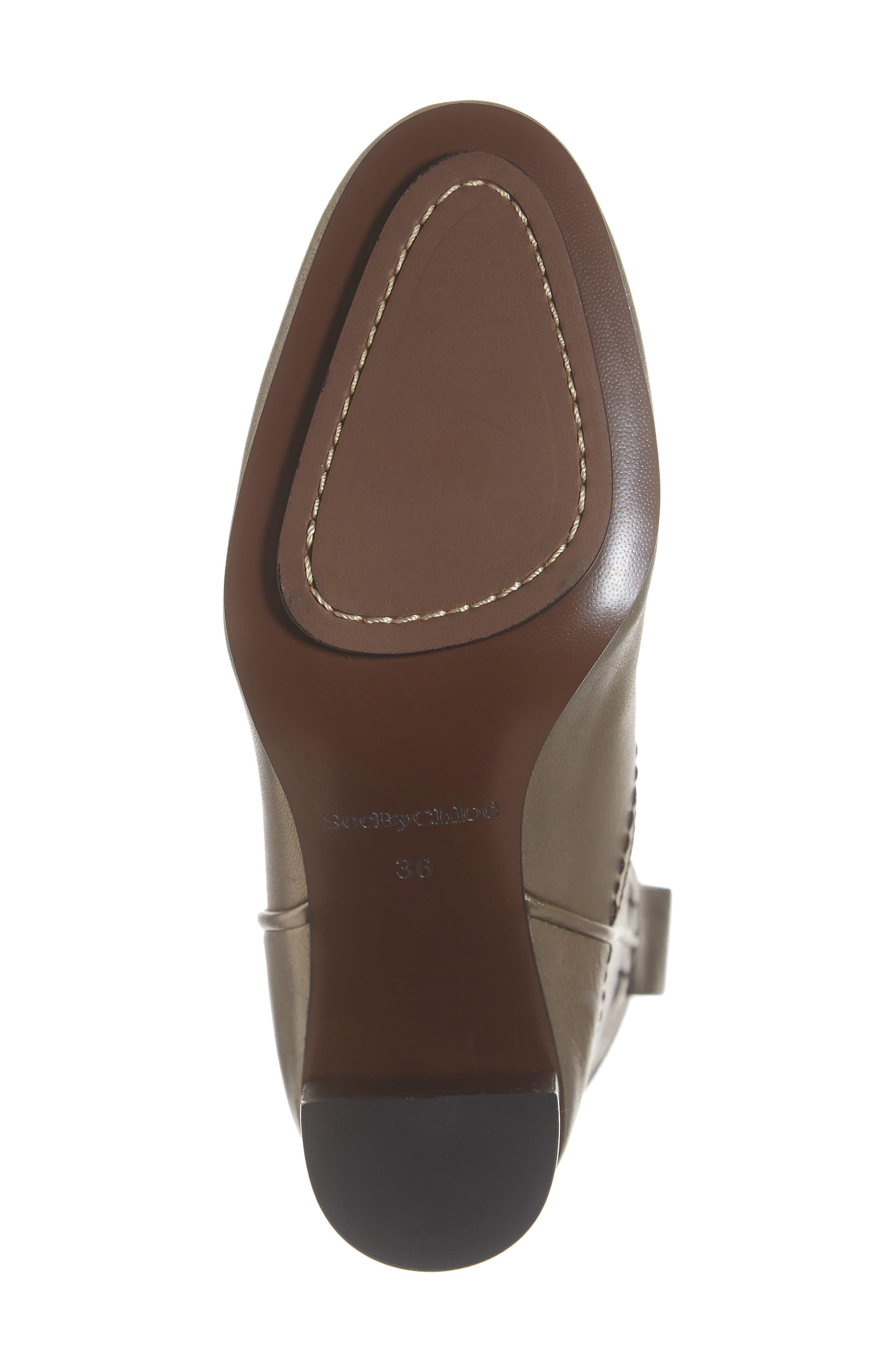 Annika Split Shaft Western Boot,                             Alternate thumbnail 6, color,                             ACCIAIO