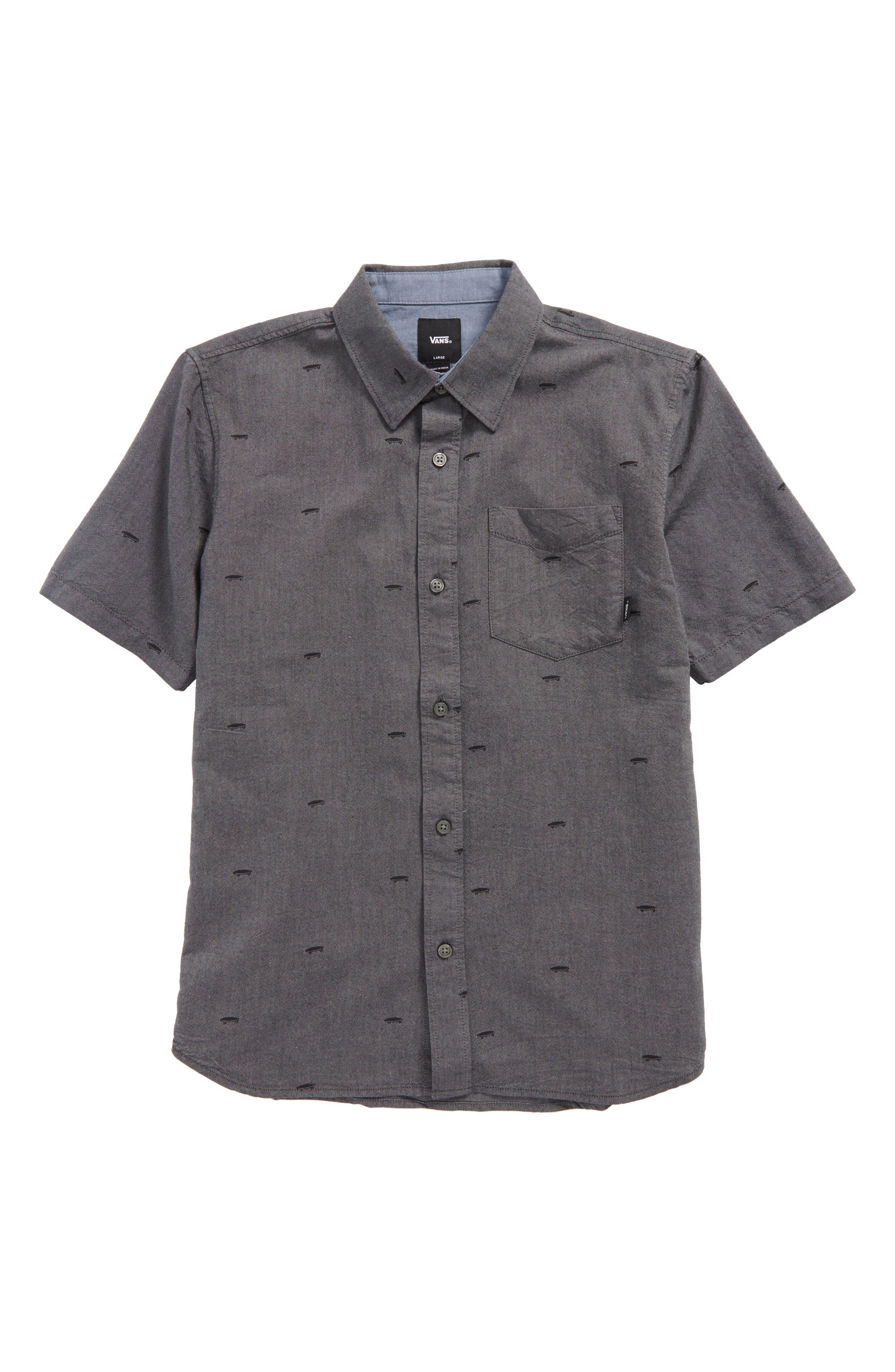 Houser Woven Shirt,                             Main thumbnail 1, color,                             001