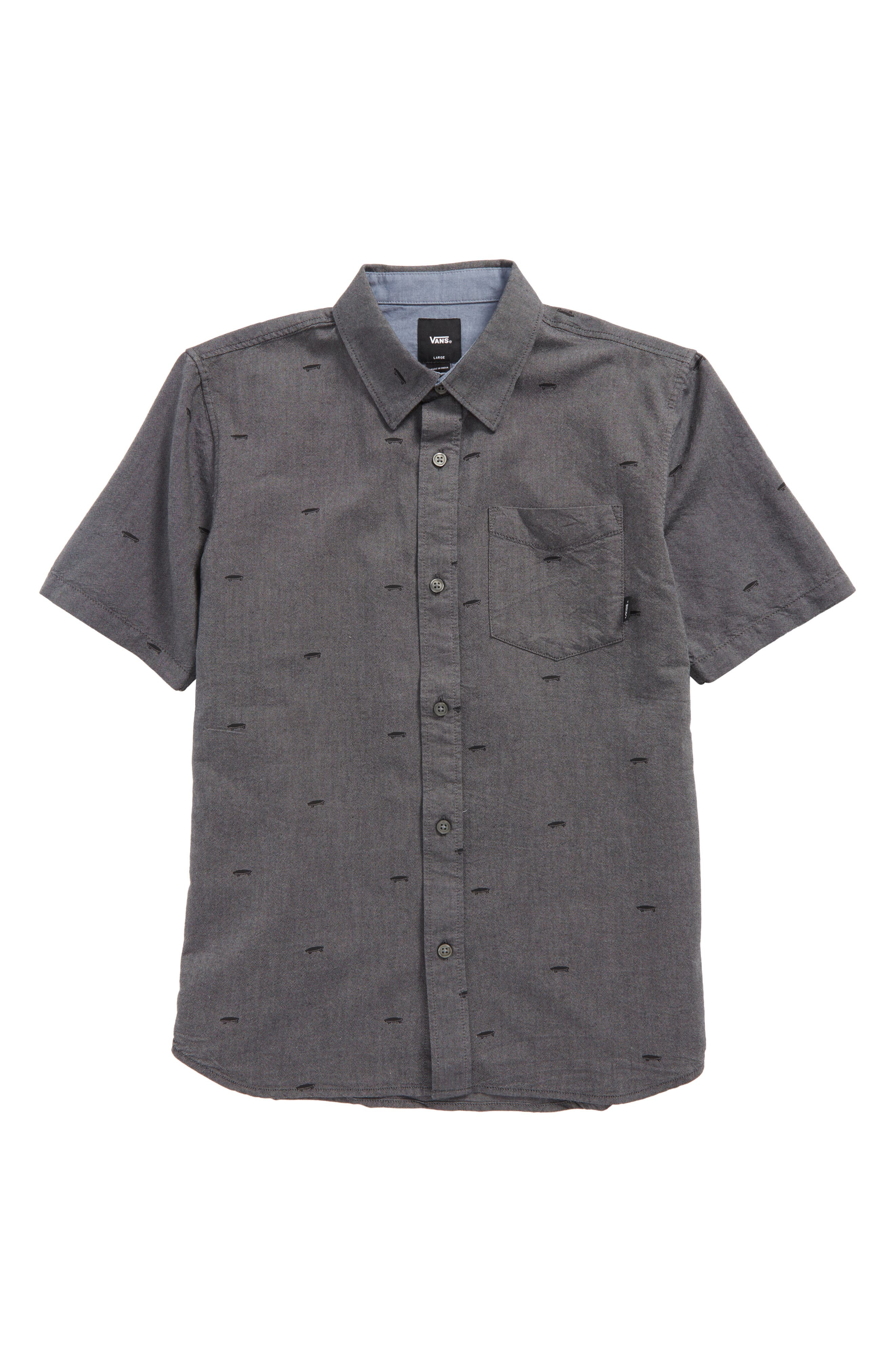 Houser Woven Shirt,                         Main,                         color, 001