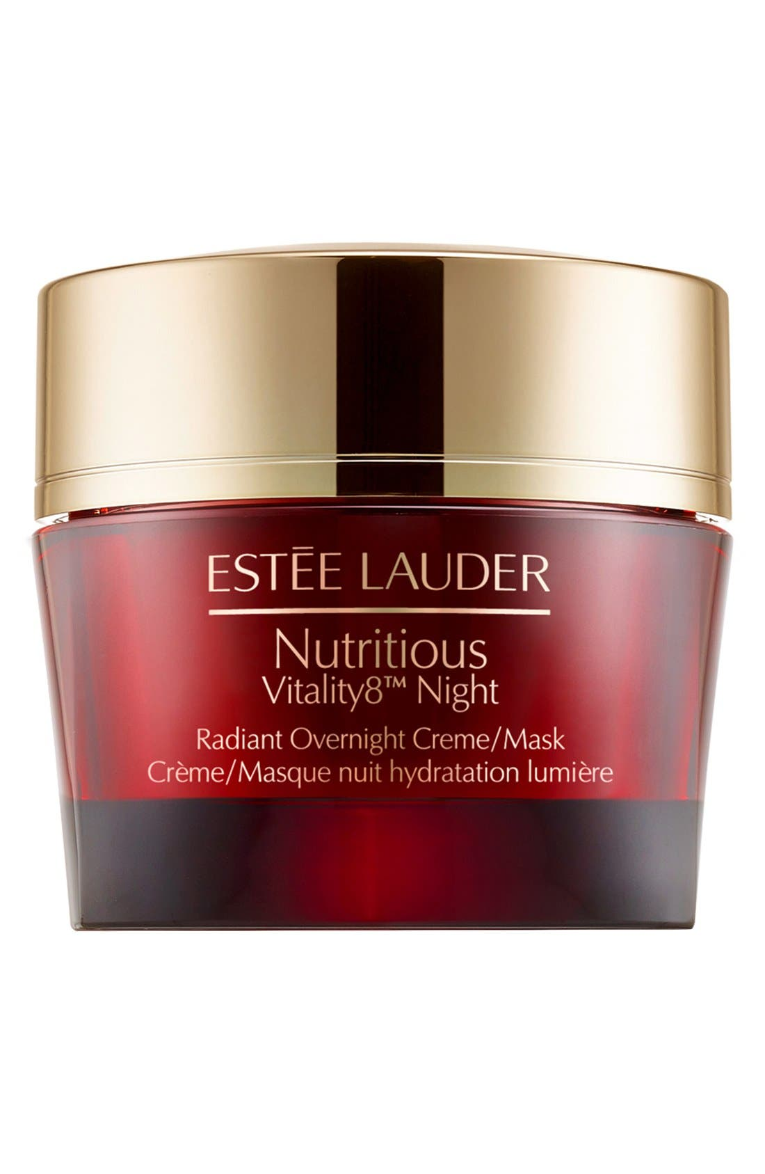Nutritious Vitality8<sup>™</sup> Night Radiant Overnight Creme/Mask,                         Main,                         color, 000