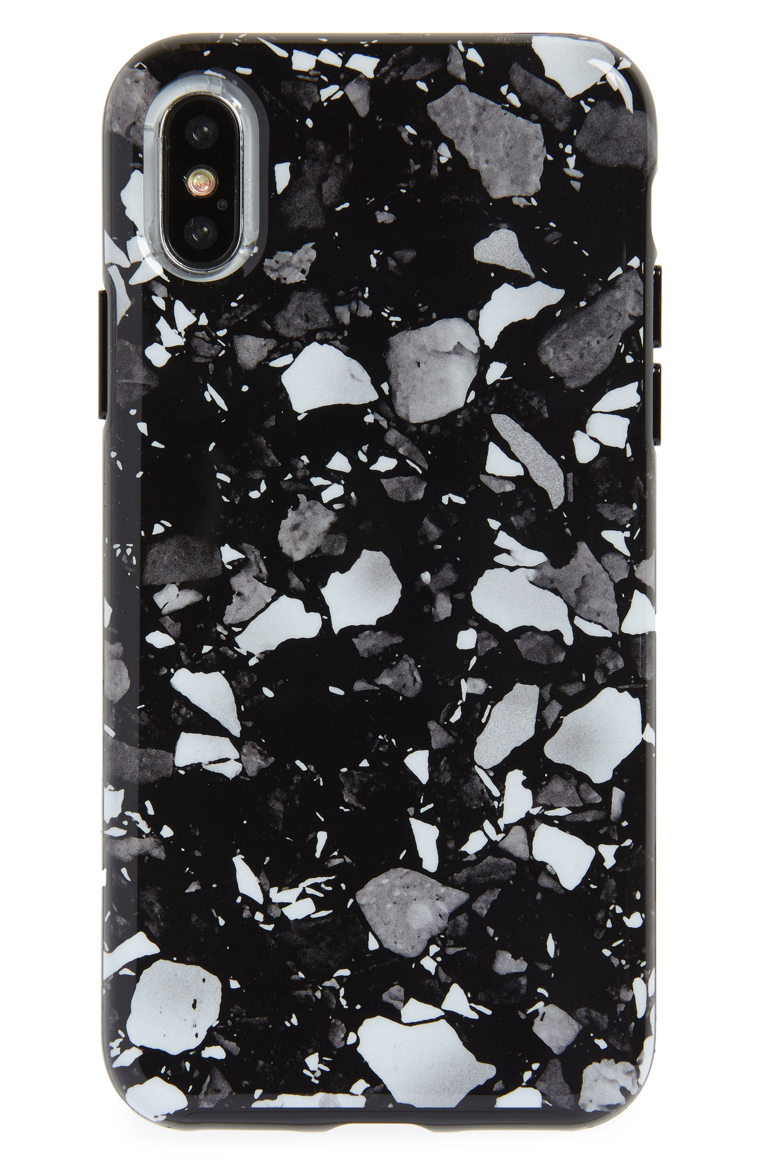 Terrazzo iPhone X & Xs Case,                             Main thumbnail 1, color,