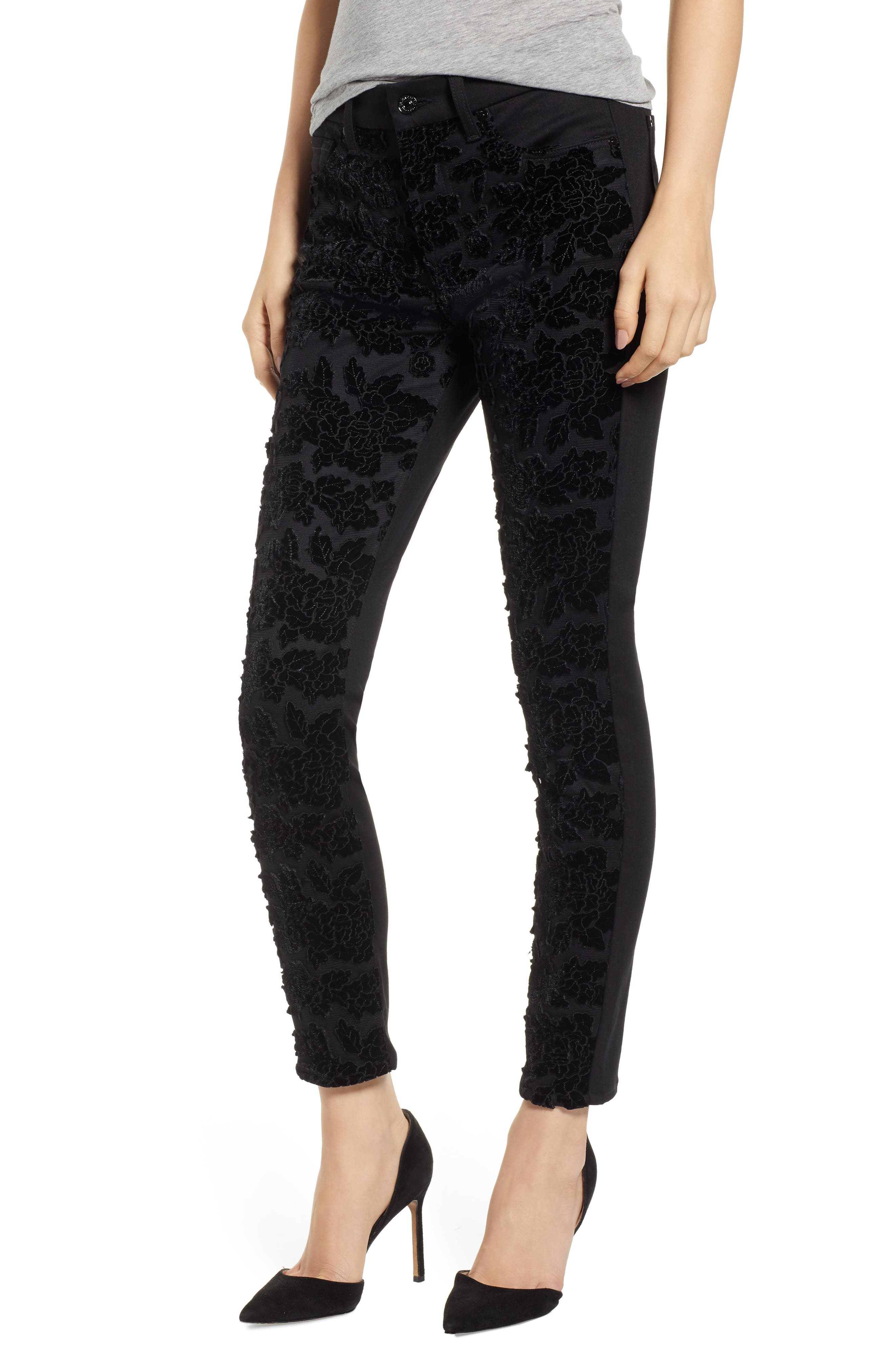 b(air) The Ankle Skinny Jeans,                             Main thumbnail 1, color,                             004