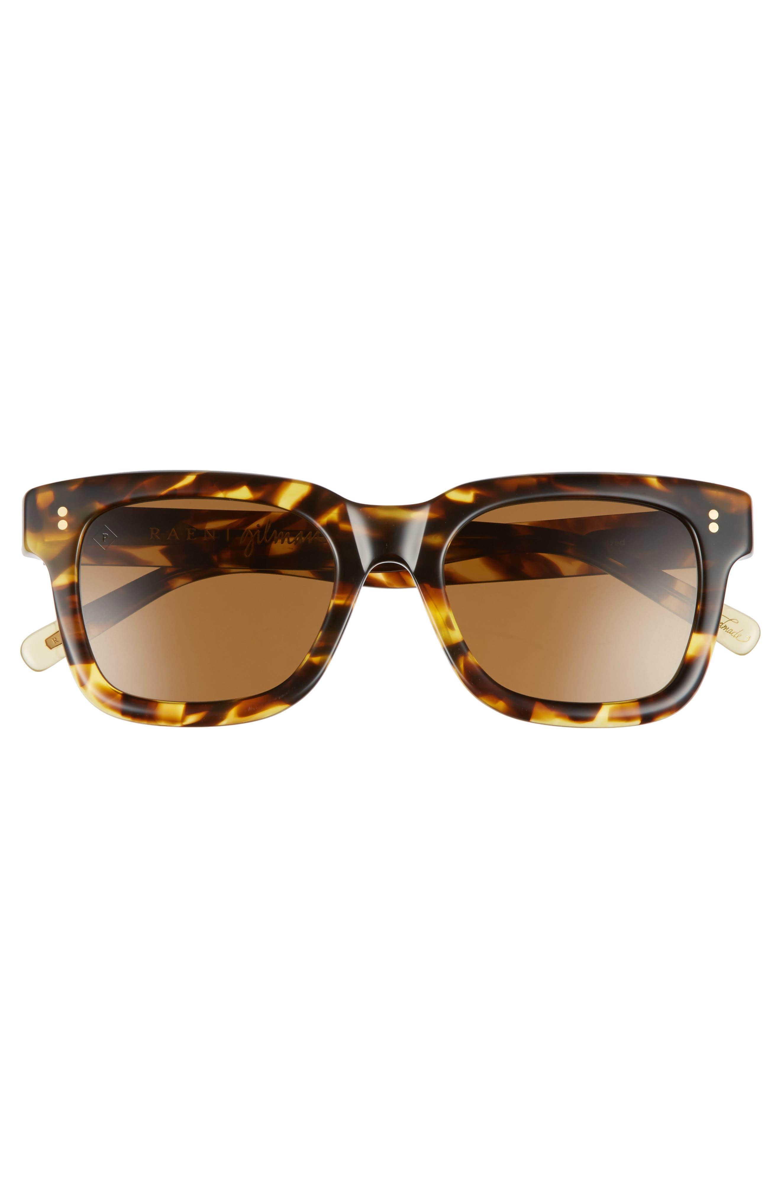 Gilman 52mm Polarized Sunglasses,                             Alternate thumbnail 2, color,                             TOKYO TORTOISE/ BROWN