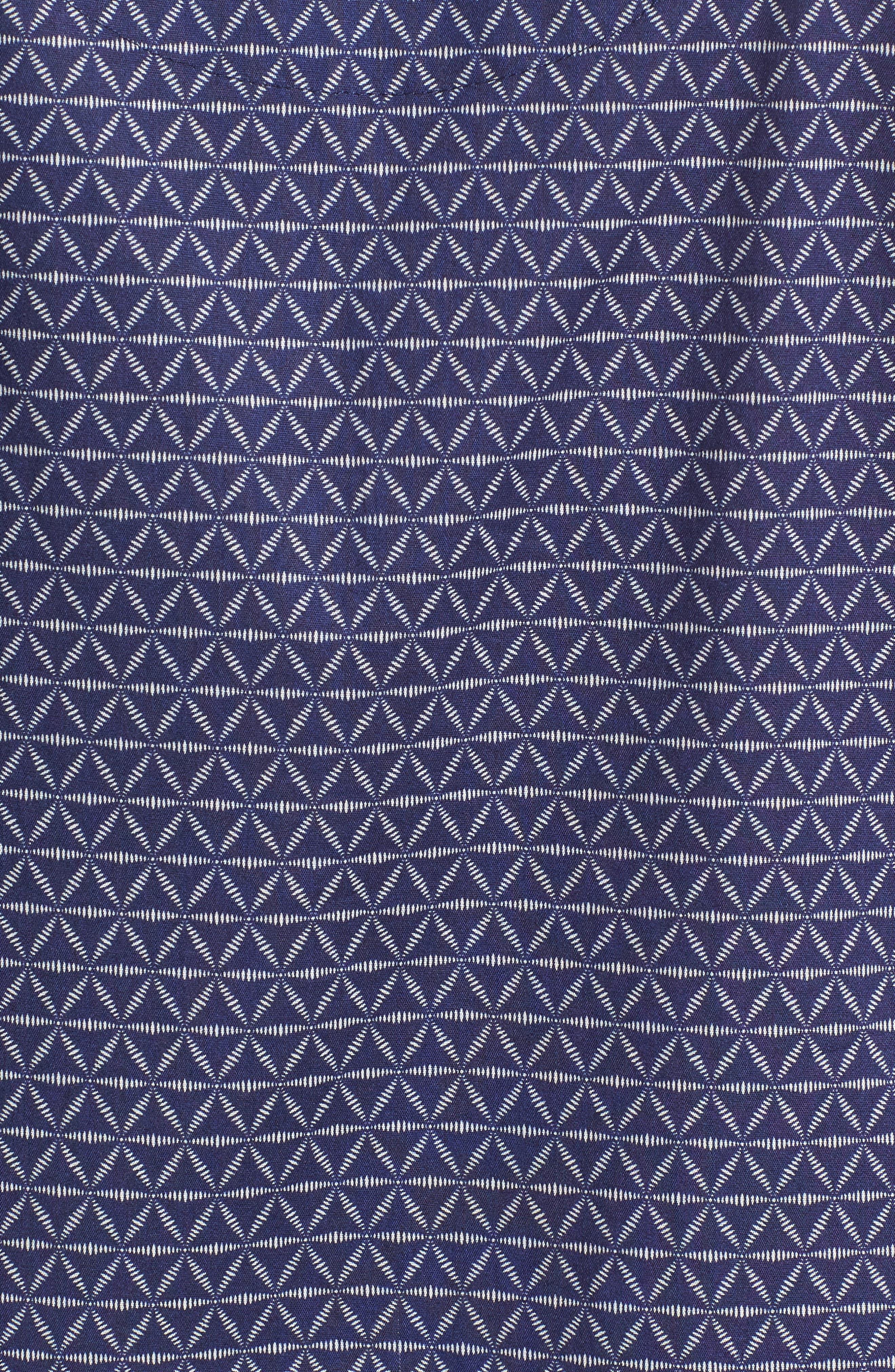 Starling Pajama Set,                             Alternate thumbnail 5, color,                             NAVY