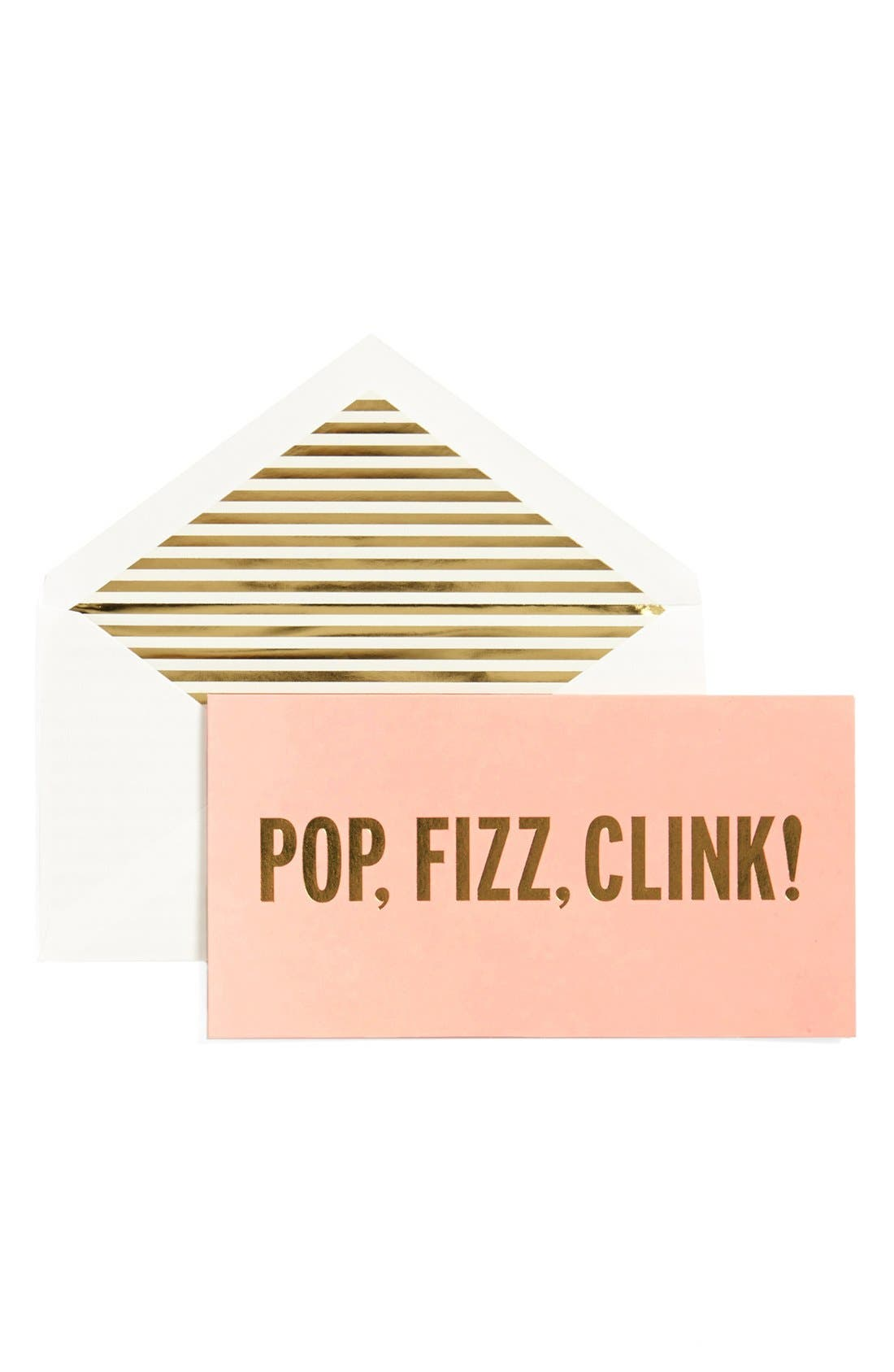 'pop, fizz, clink!' holiday cards,                             Main thumbnail 1, color,                             650
