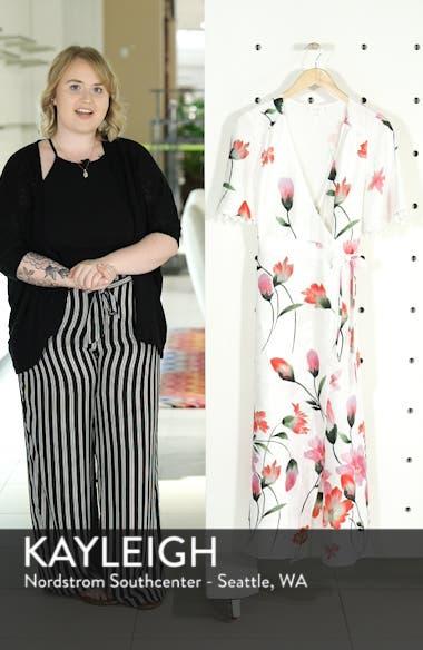 Print Wrap Maxi Dress, sales video thumbnail