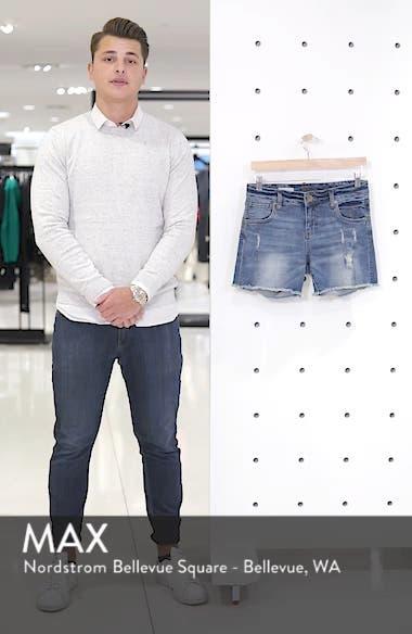 Gidget Distressed Denim Shorts, sales video thumbnail