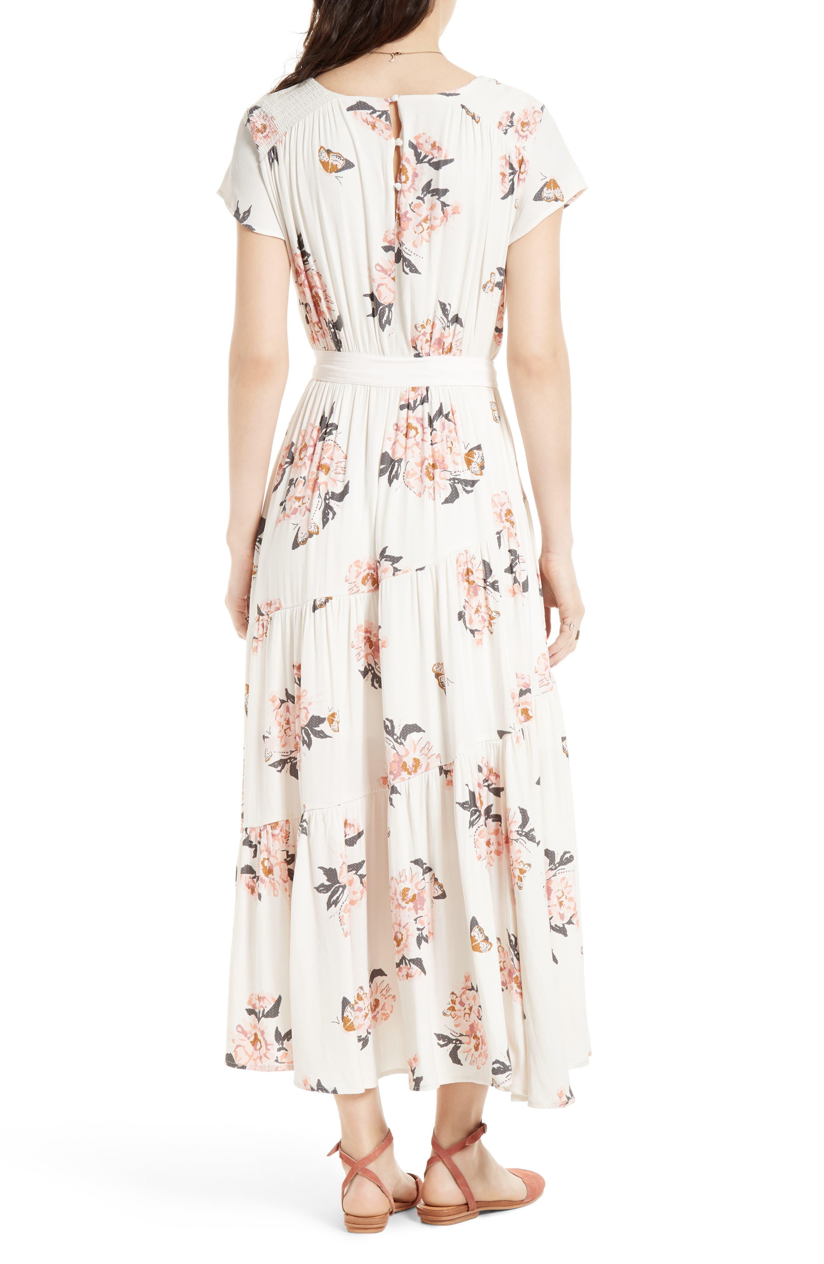All I Got Maxi Dress,                             Alternate thumbnail 2, color,                             IVORY COMBO
