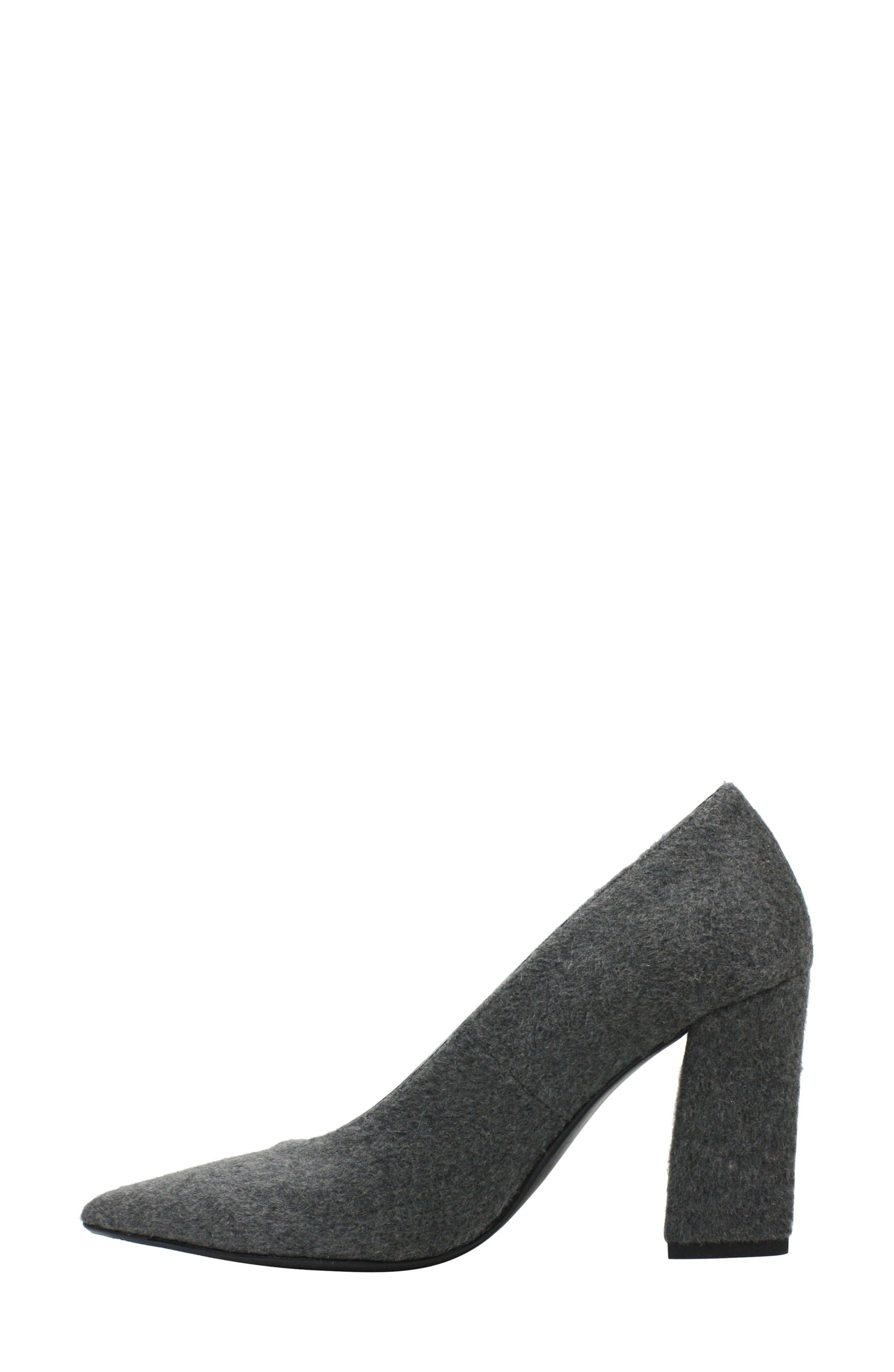J. RENEÉ,                             Madisson Pointy Toe Pump,                             Alternate thumbnail 7, color,                             GREY FABRIC