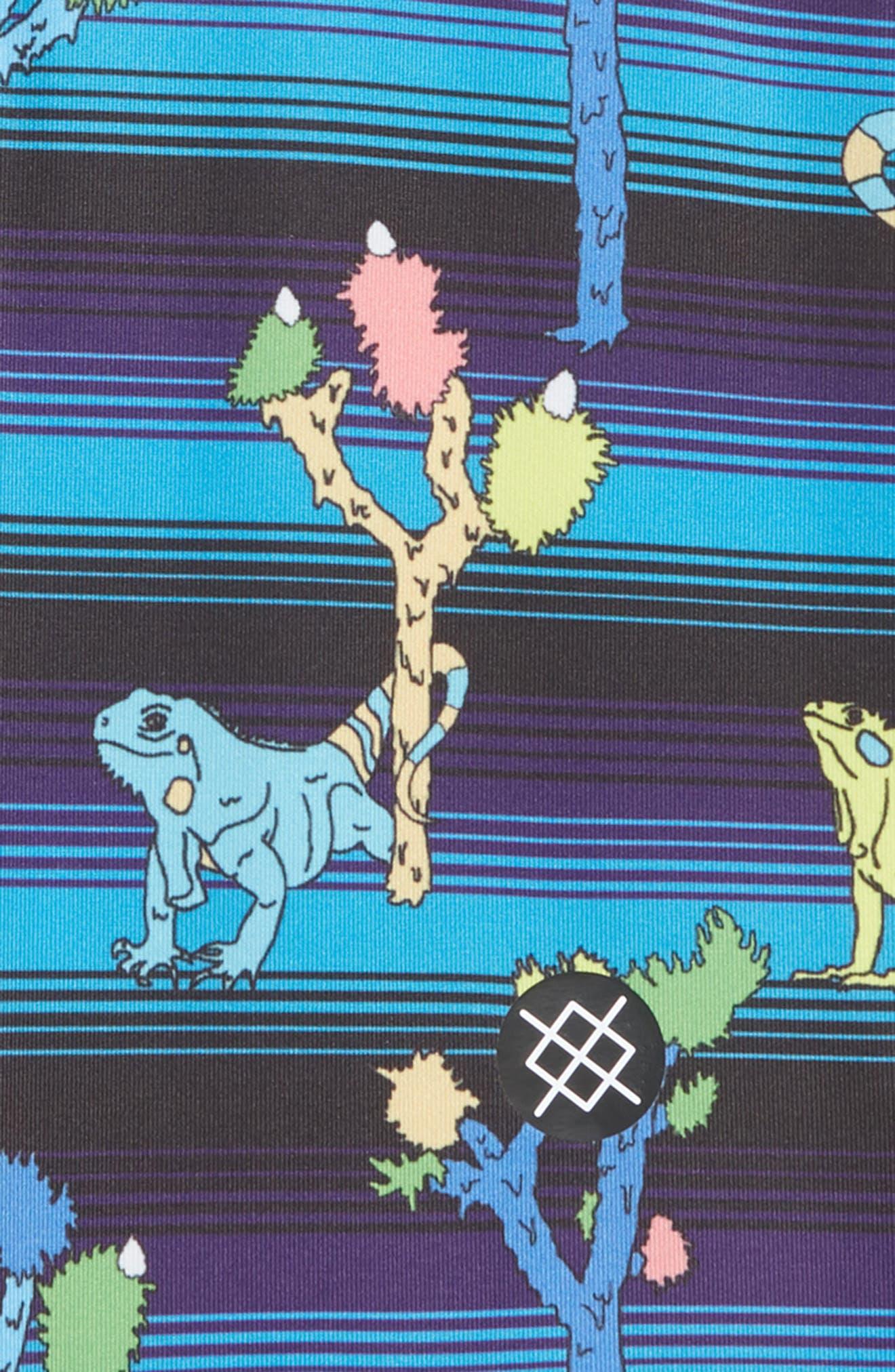 Reptile Boxer Briefs,                             Alternate thumbnail 2, color,                             PURPLE