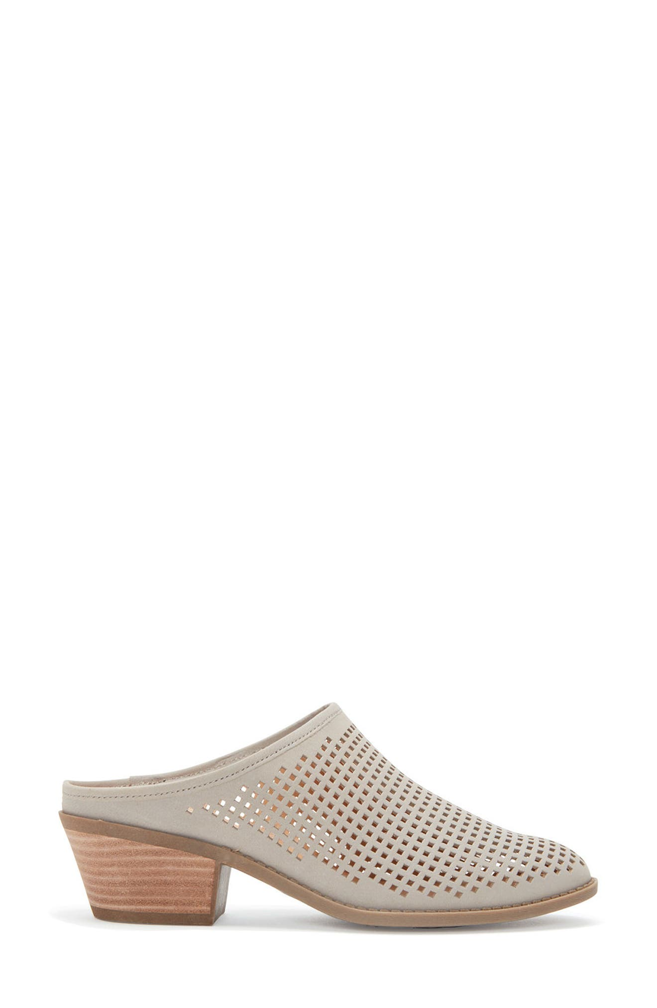 Zara Block Heel Mule,                             Alternate thumbnail 3, color,                             082