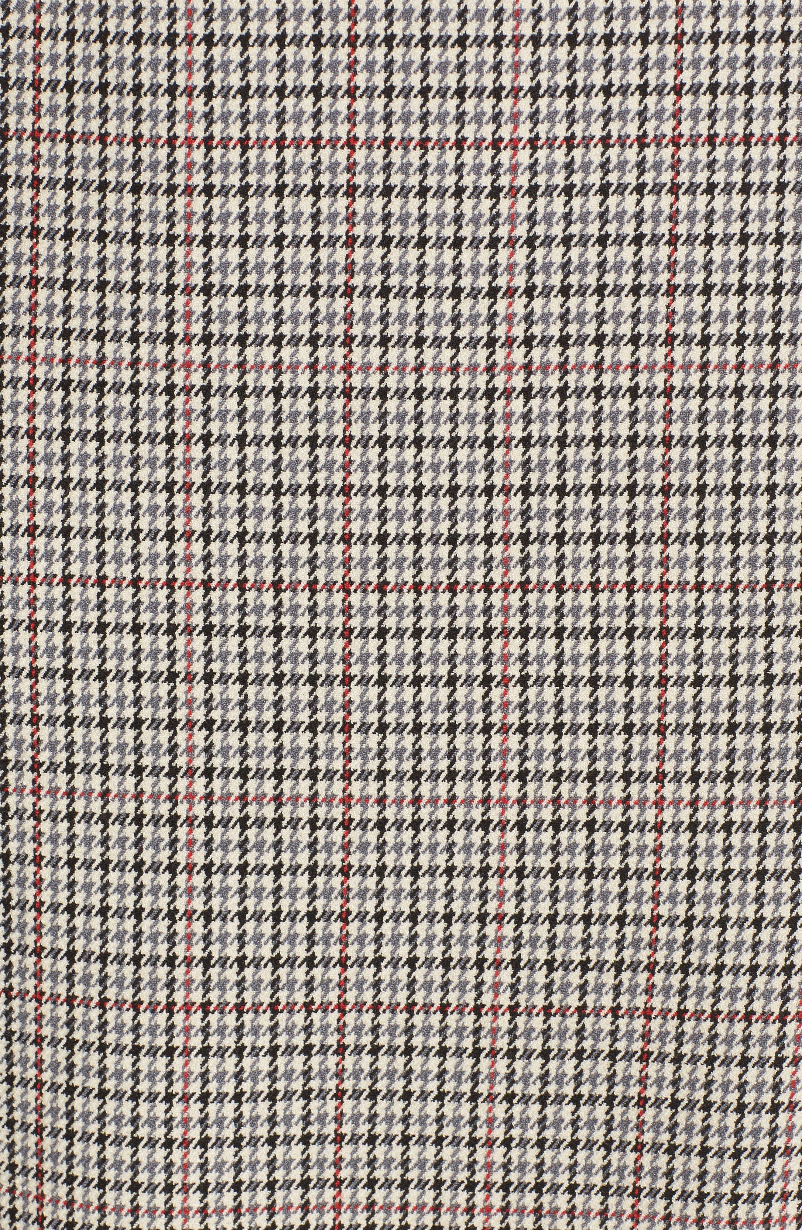 Houndstooth Sheath Dress,                             Alternate thumbnail 5, color,                             270
