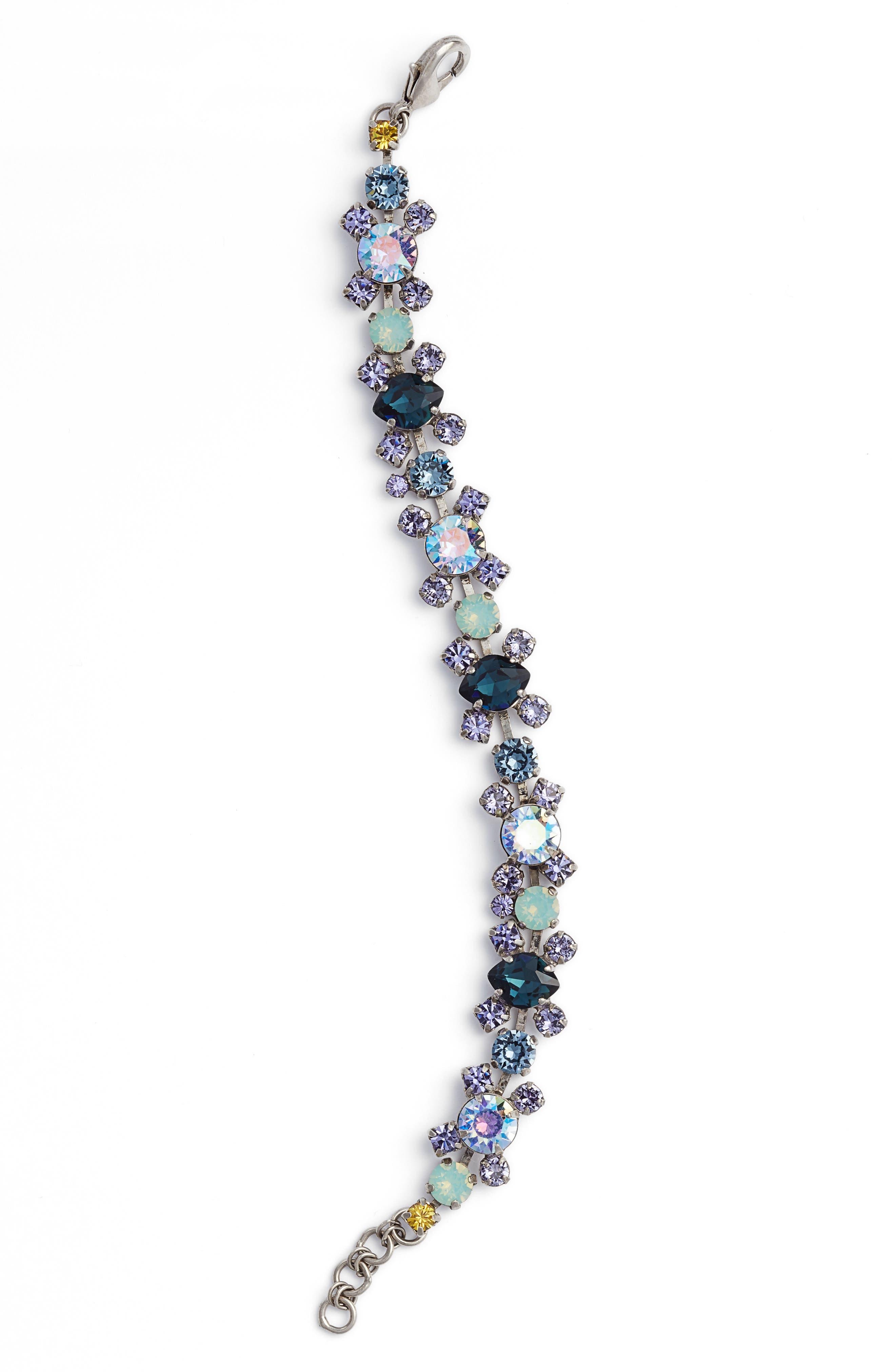 Perfect Harmony Bracelet,                             Main thumbnail 1, color,                             PURPLE/ BLUE
