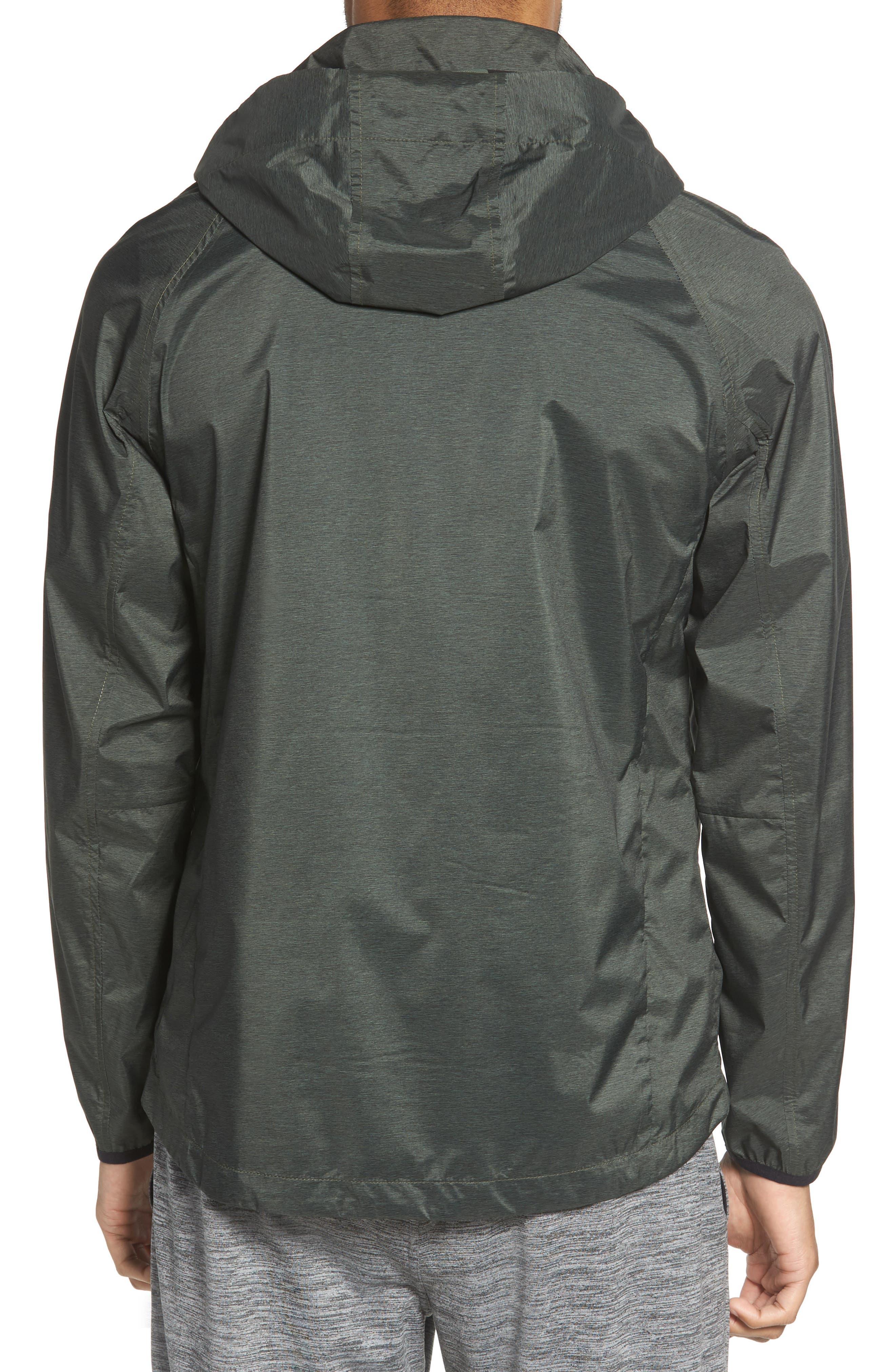 Xieite Hooded Jacket,                             Alternate thumbnail 2, color,                             GREEN TACTICAL MELANGE