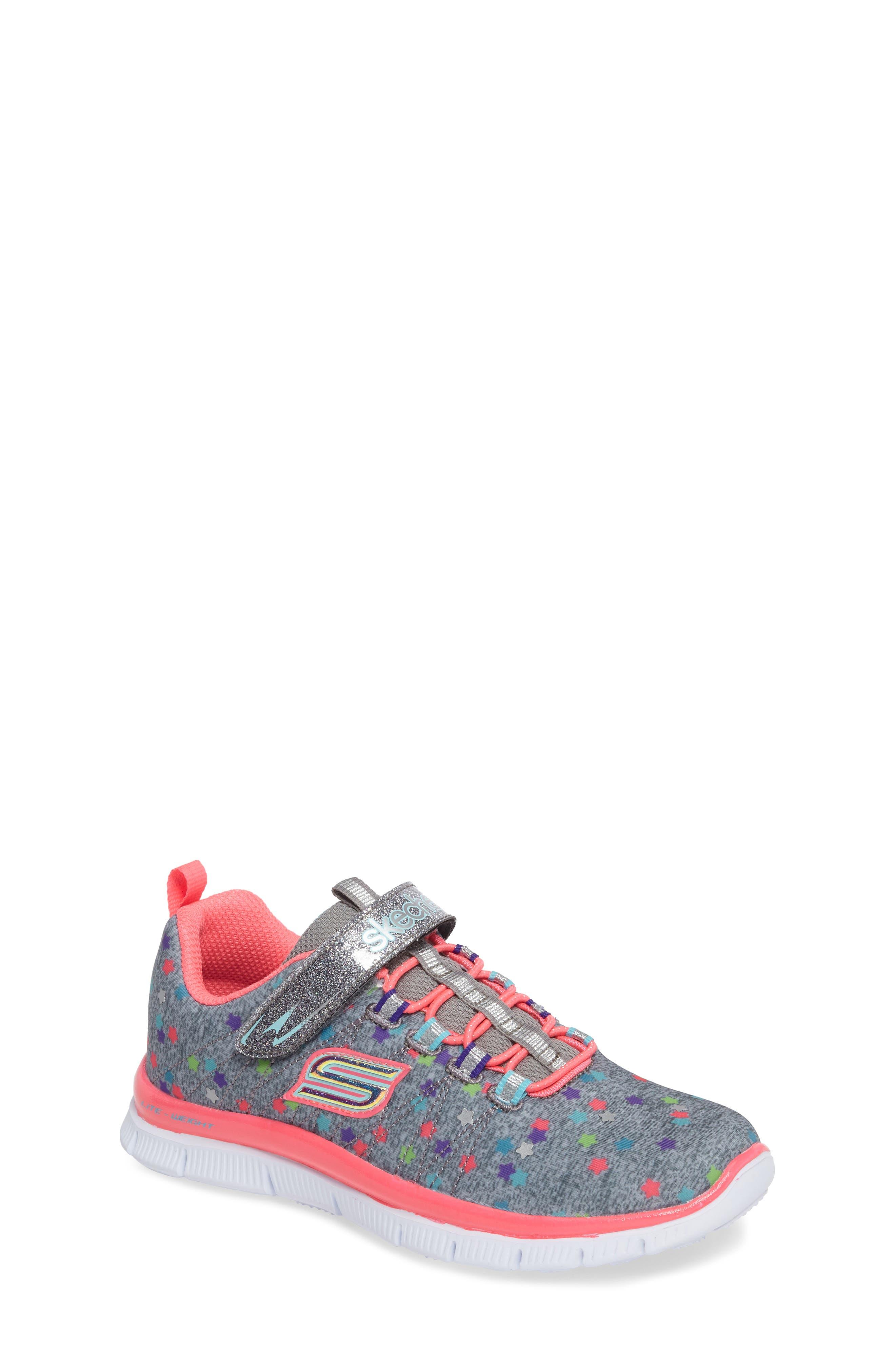 Skech Appeal Star Spirit Sneaker,                             Main thumbnail 1, color,                             020