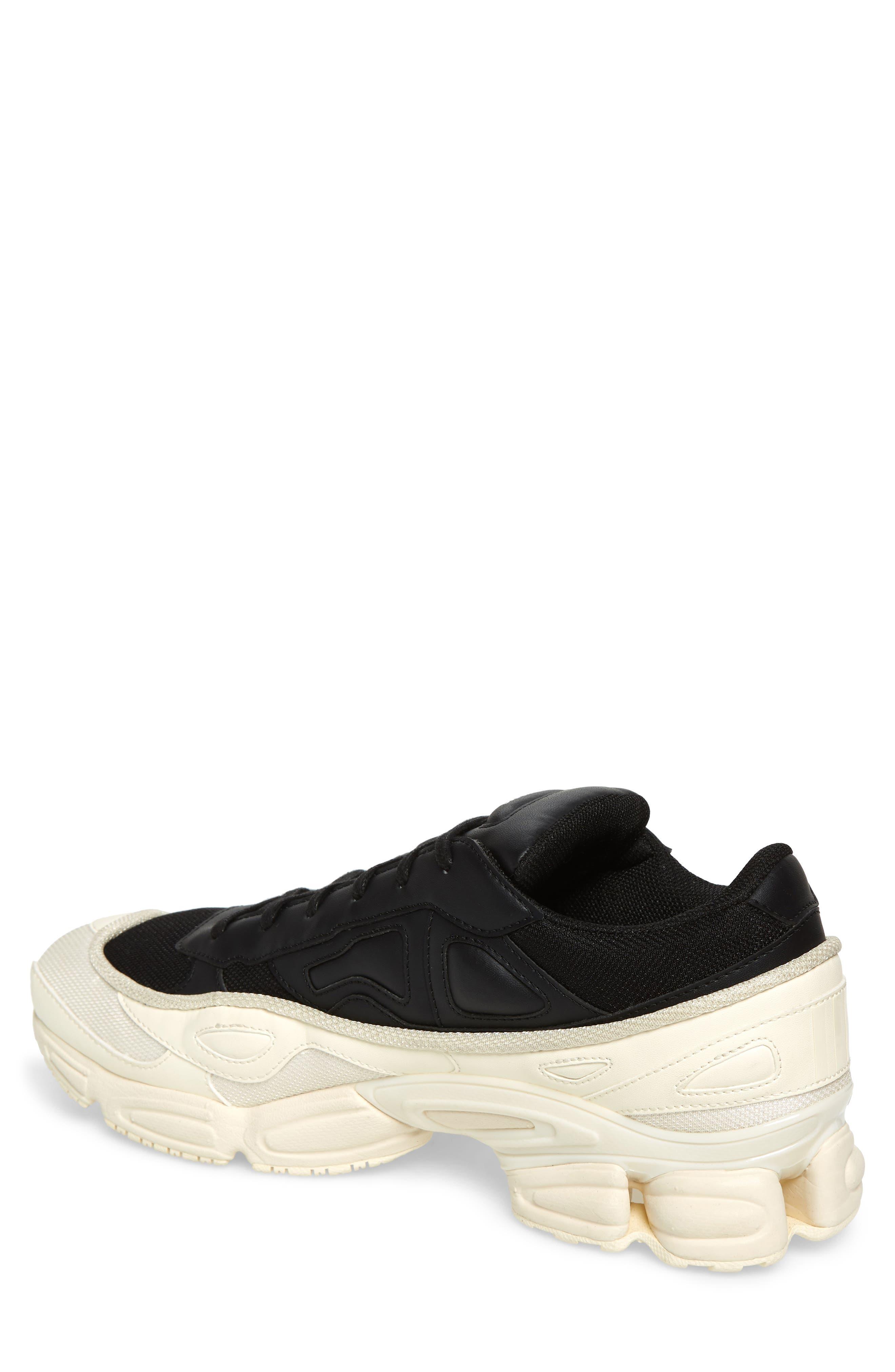 adidas by Raf Simons Ozweego III Sneaker,                             Alternate thumbnail 2, color,                             CREAM WHITE/ CORE BLACK
