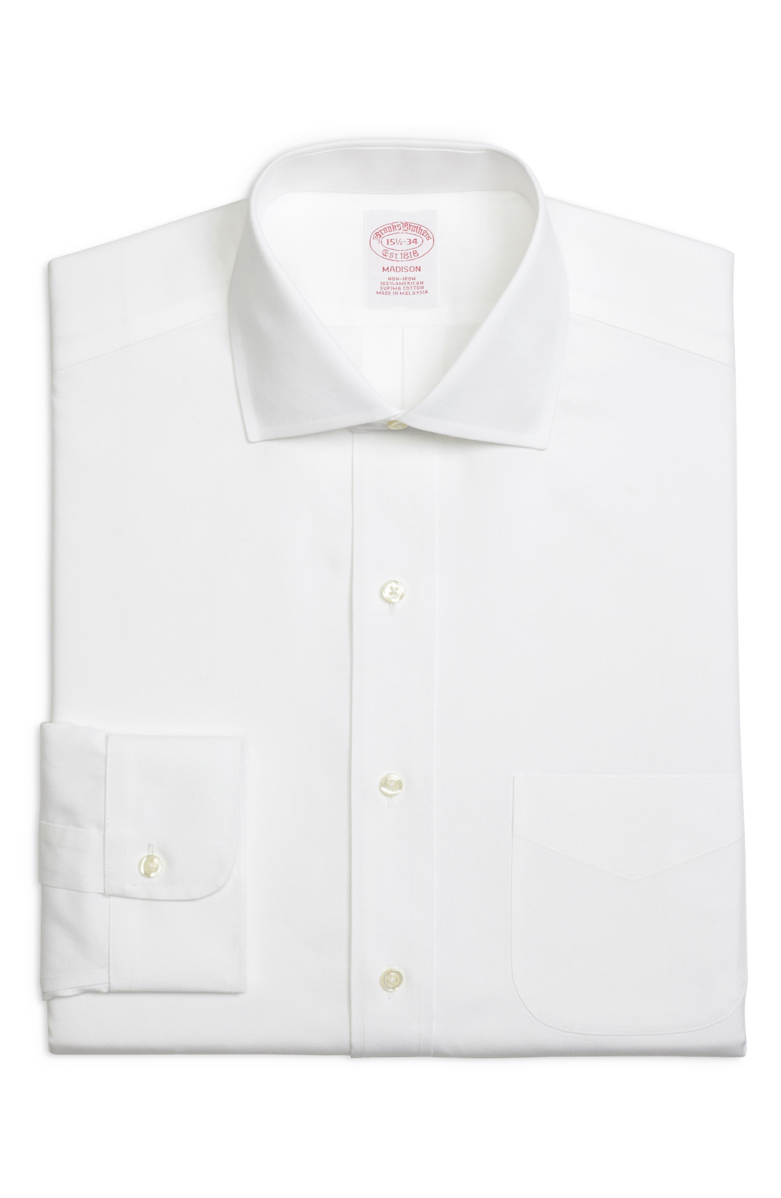 Brooks Brothers Classic Fit Solid Dress Shirt (3 For $207)