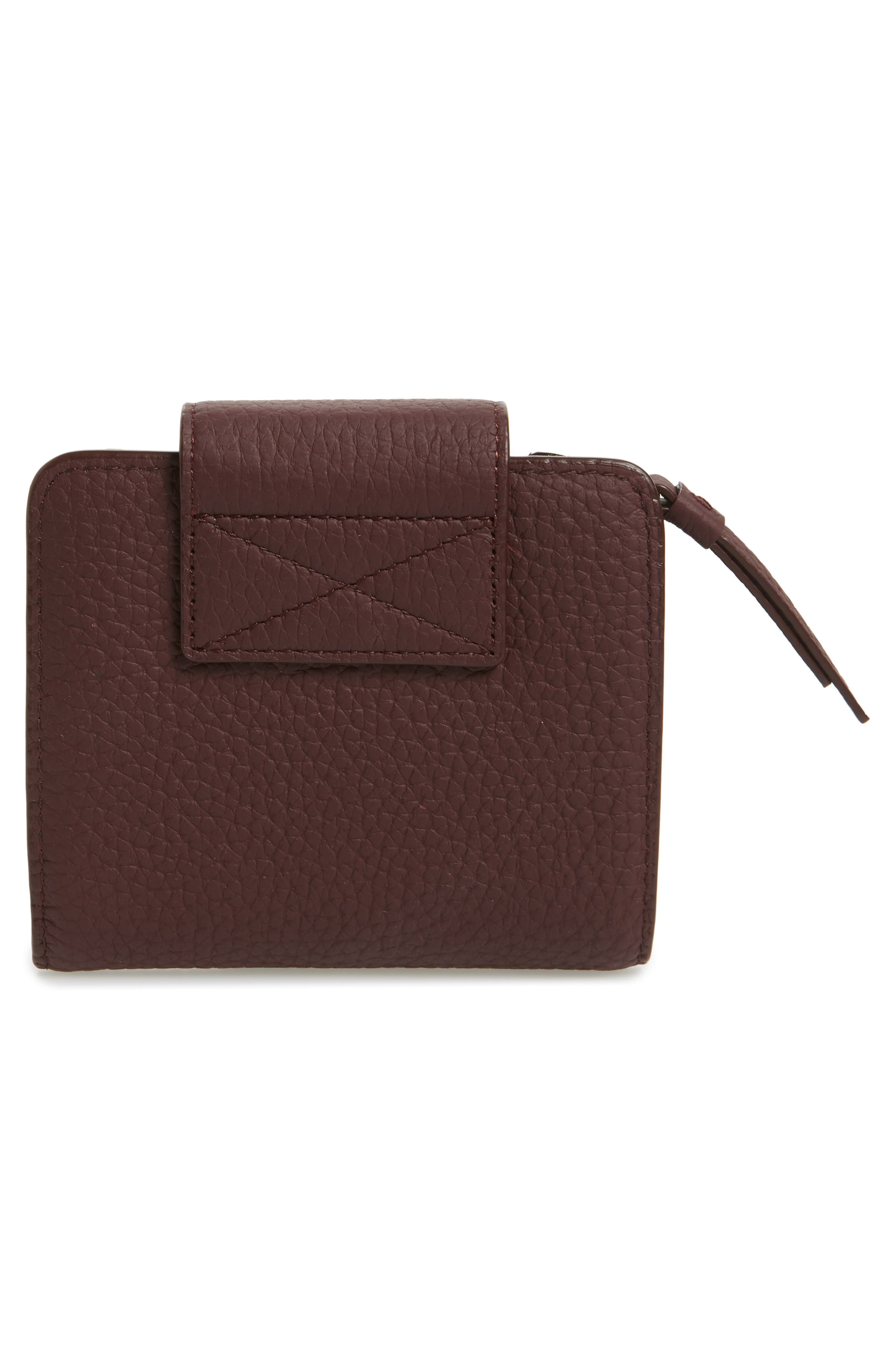 Small Ray Leather Wallet,                             Alternate thumbnail 15, color,