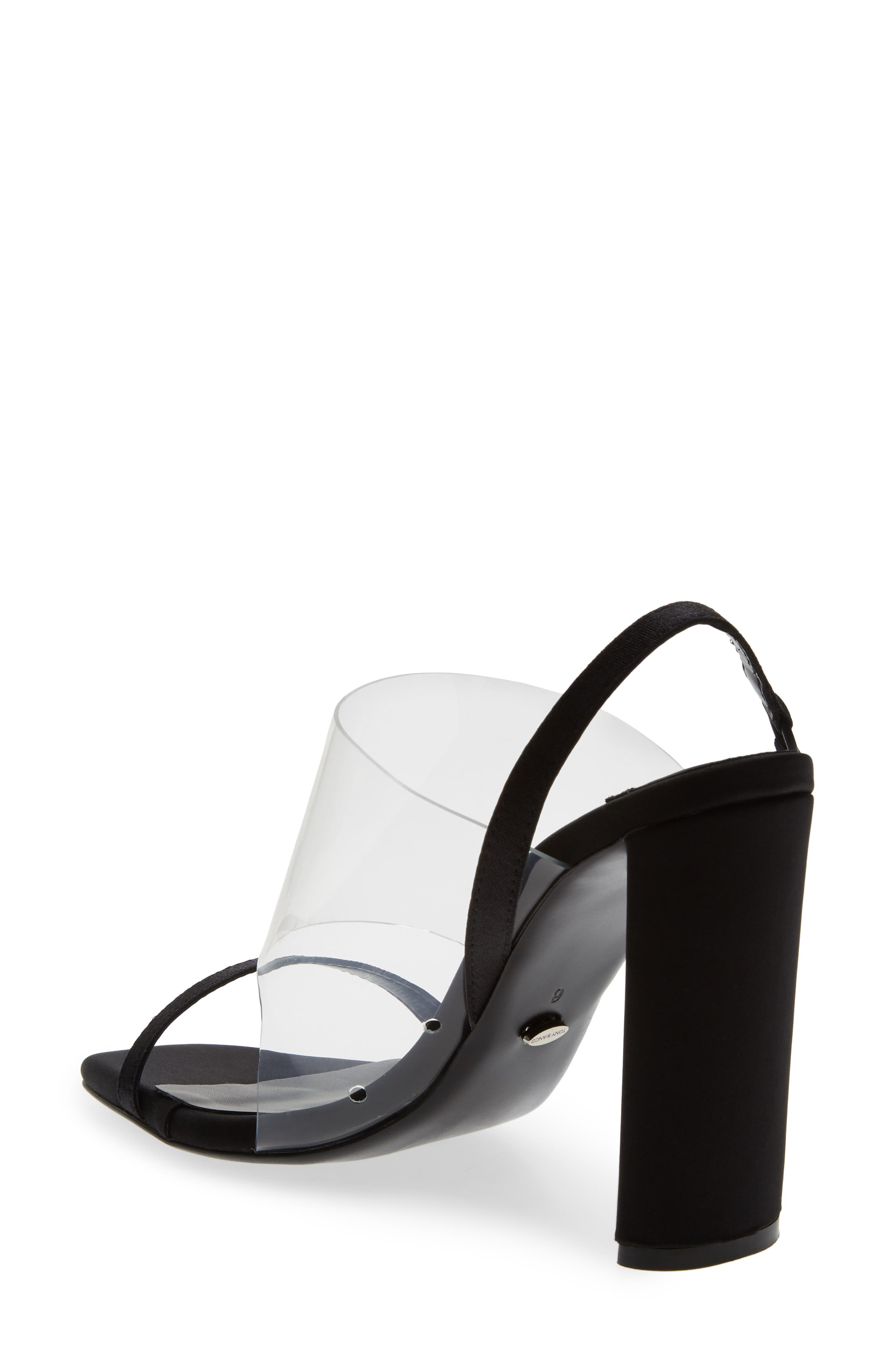 Sandal,                             Alternate thumbnail 2, color,                             BLACK