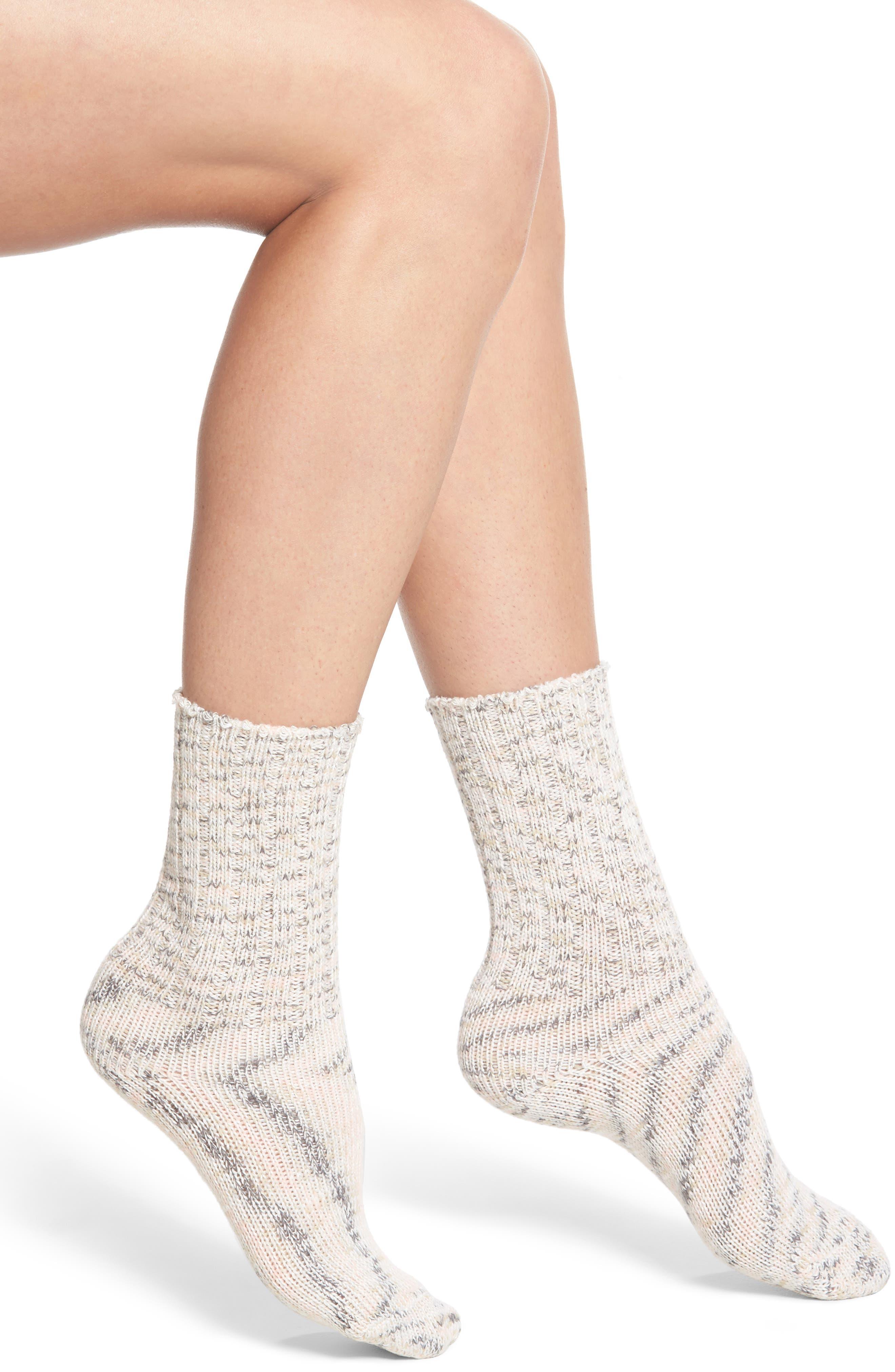 Supersoft Ribbed Boot Socks,                             Main thumbnail 4, color,