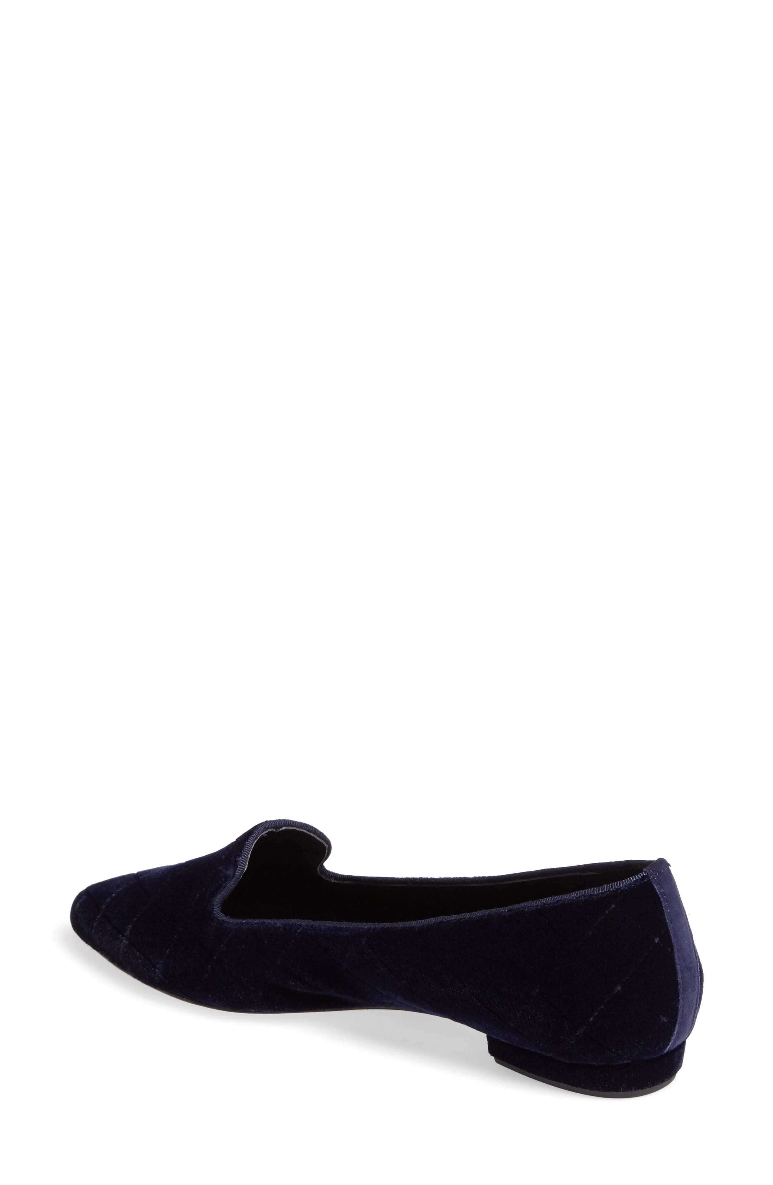 Gannie Diamond Pattern Loafer,                             Alternate thumbnail 5, color,