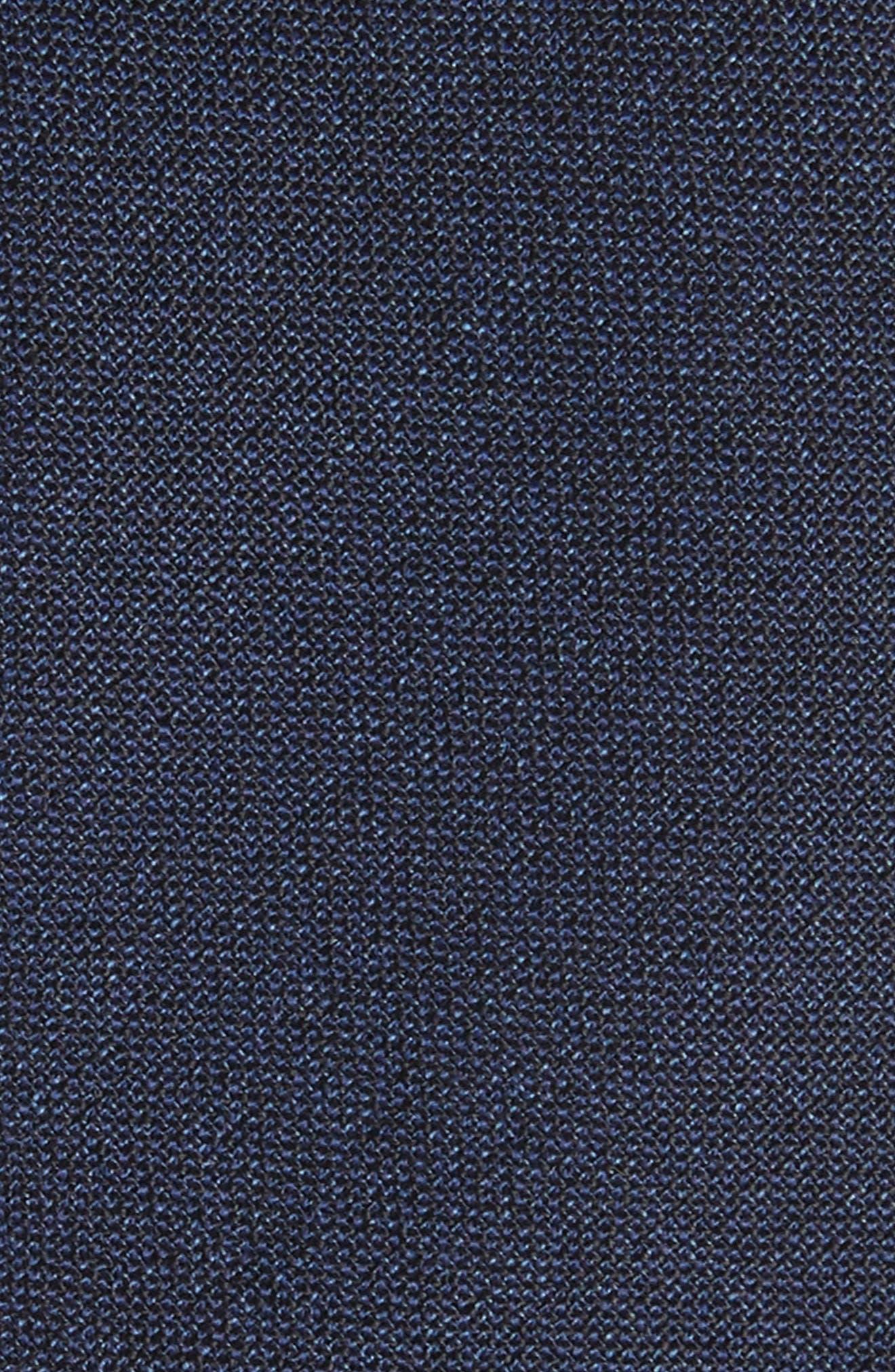 Jaspé Wool Skinny Tie,                             Alternate thumbnail 7, color,
