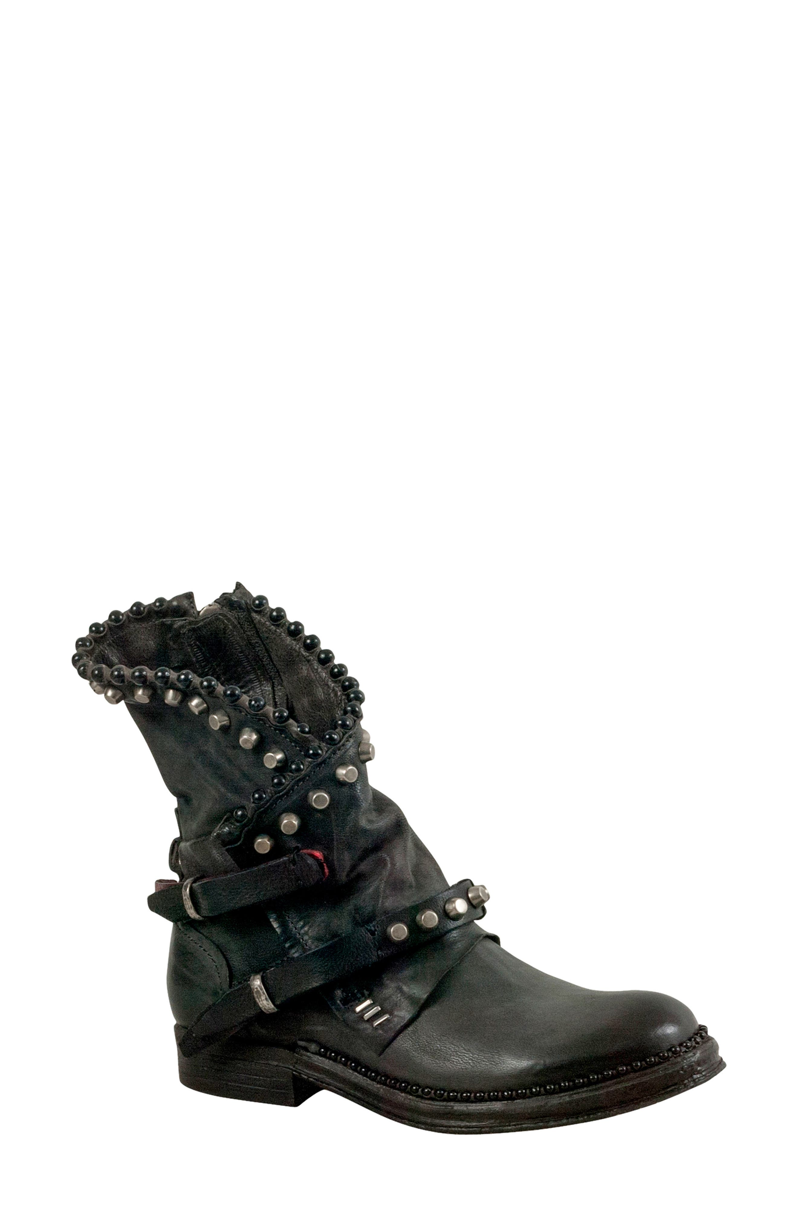 A.S.98 Vianne Bootie in Smoke
