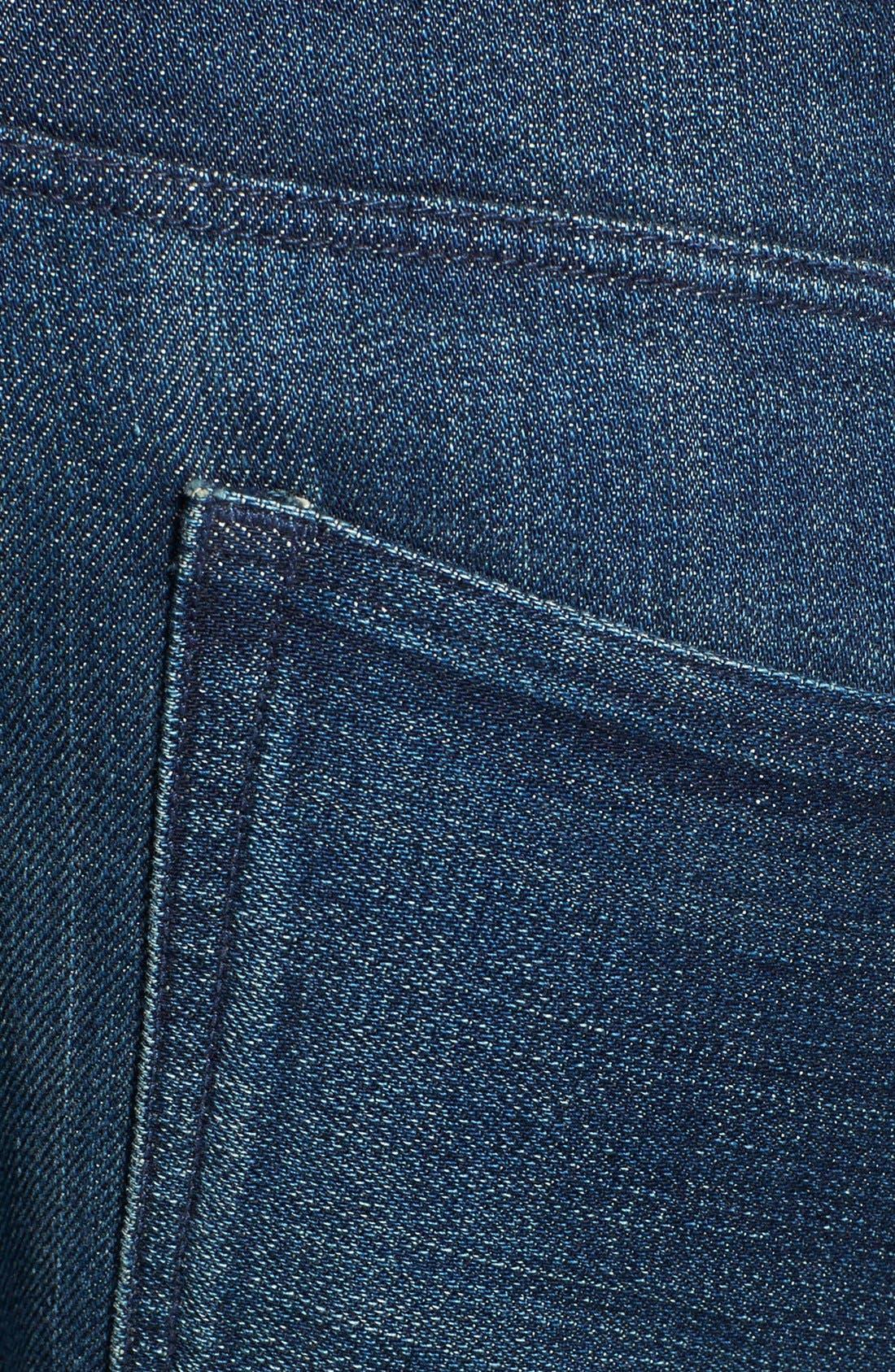 'M3' Slim Fit Selvedge Jeans,                             Alternate thumbnail 3, color,                             413