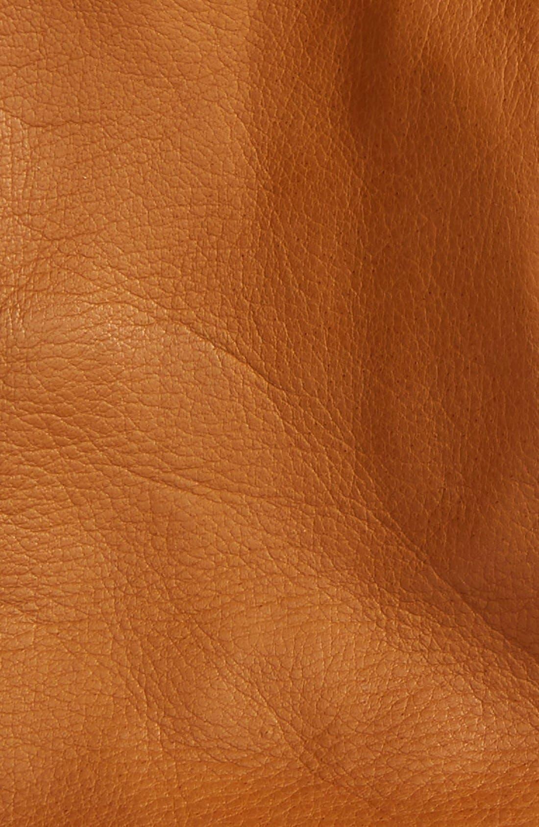 Short Leather Gloves,                             Alternate thumbnail 9, color,