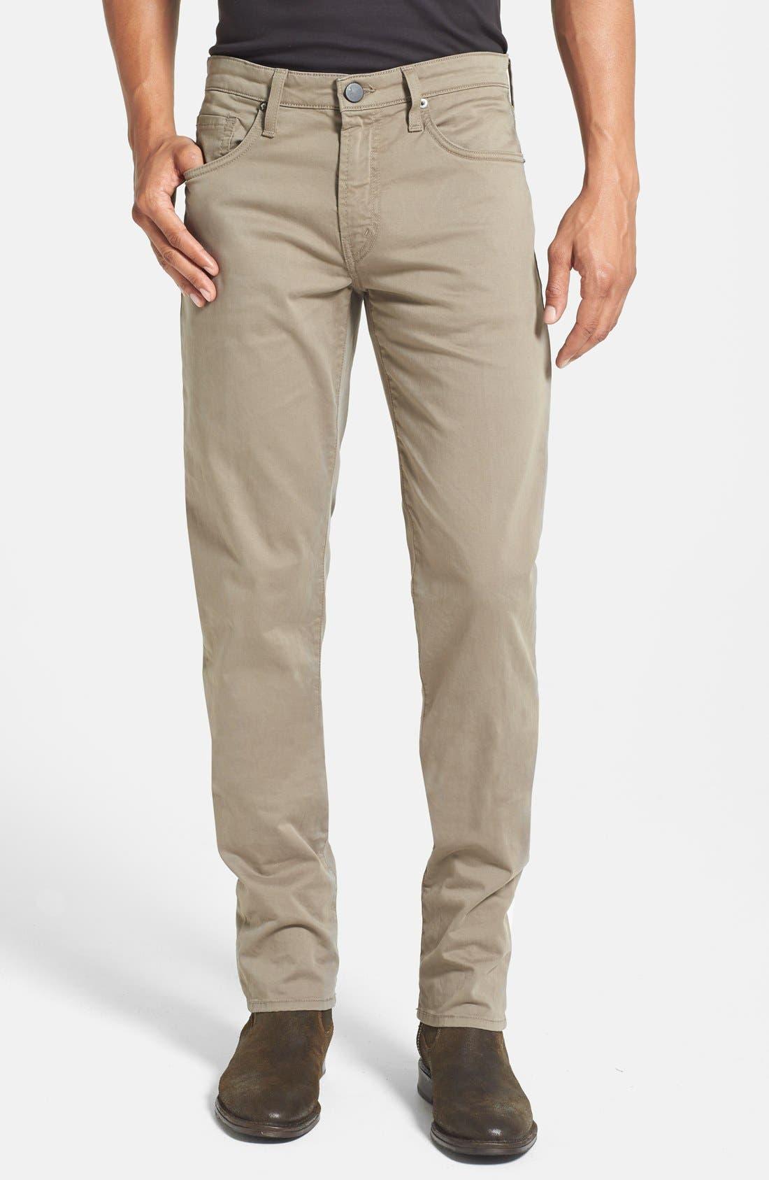'Kane' Slim Fit Cotton Twill Pants,                             Main thumbnail 22, color,