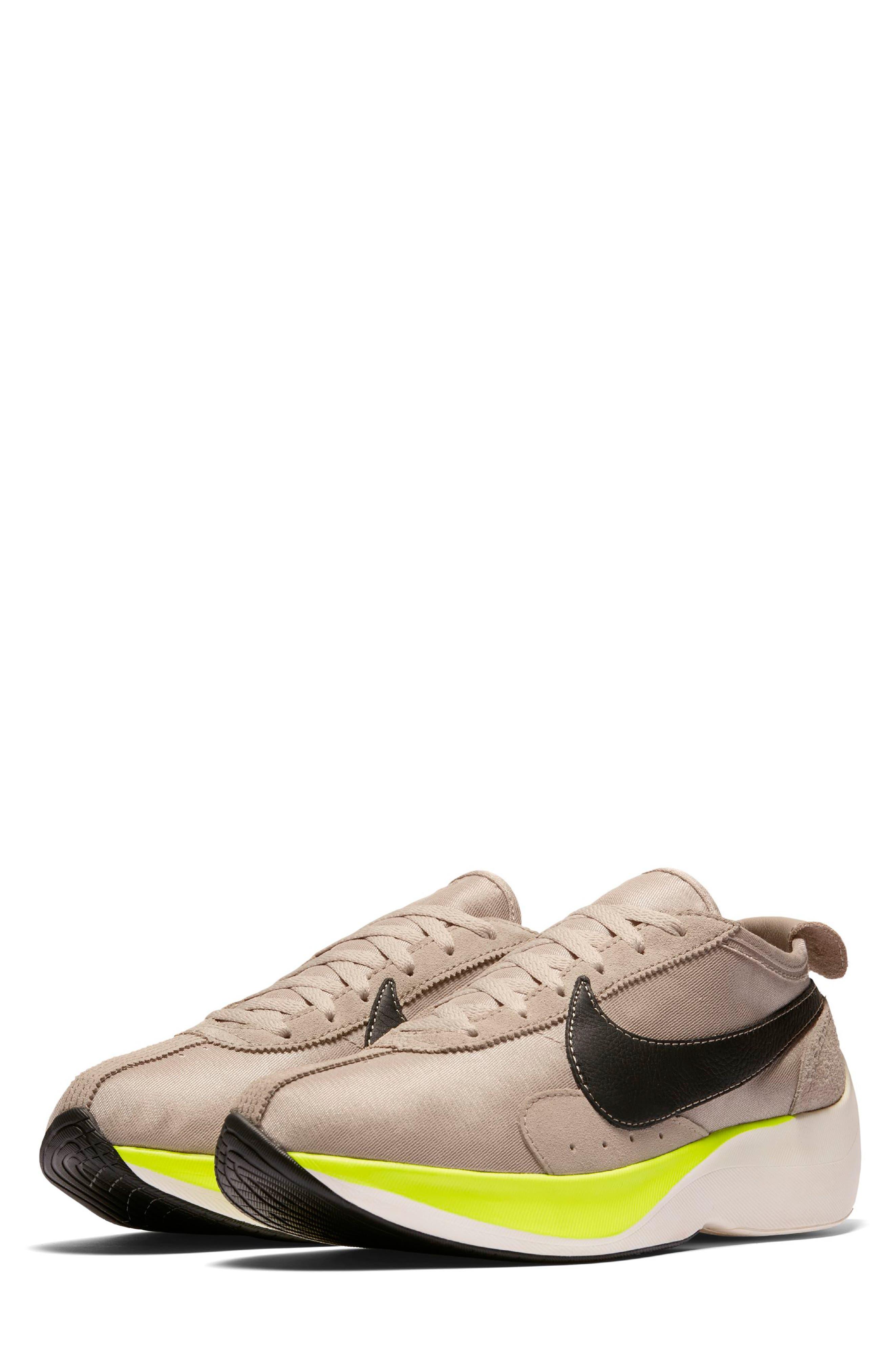 Moon Racer Sneaker,                         Main,                         color, STRING/ BLACK/ SAIL/ VOLT