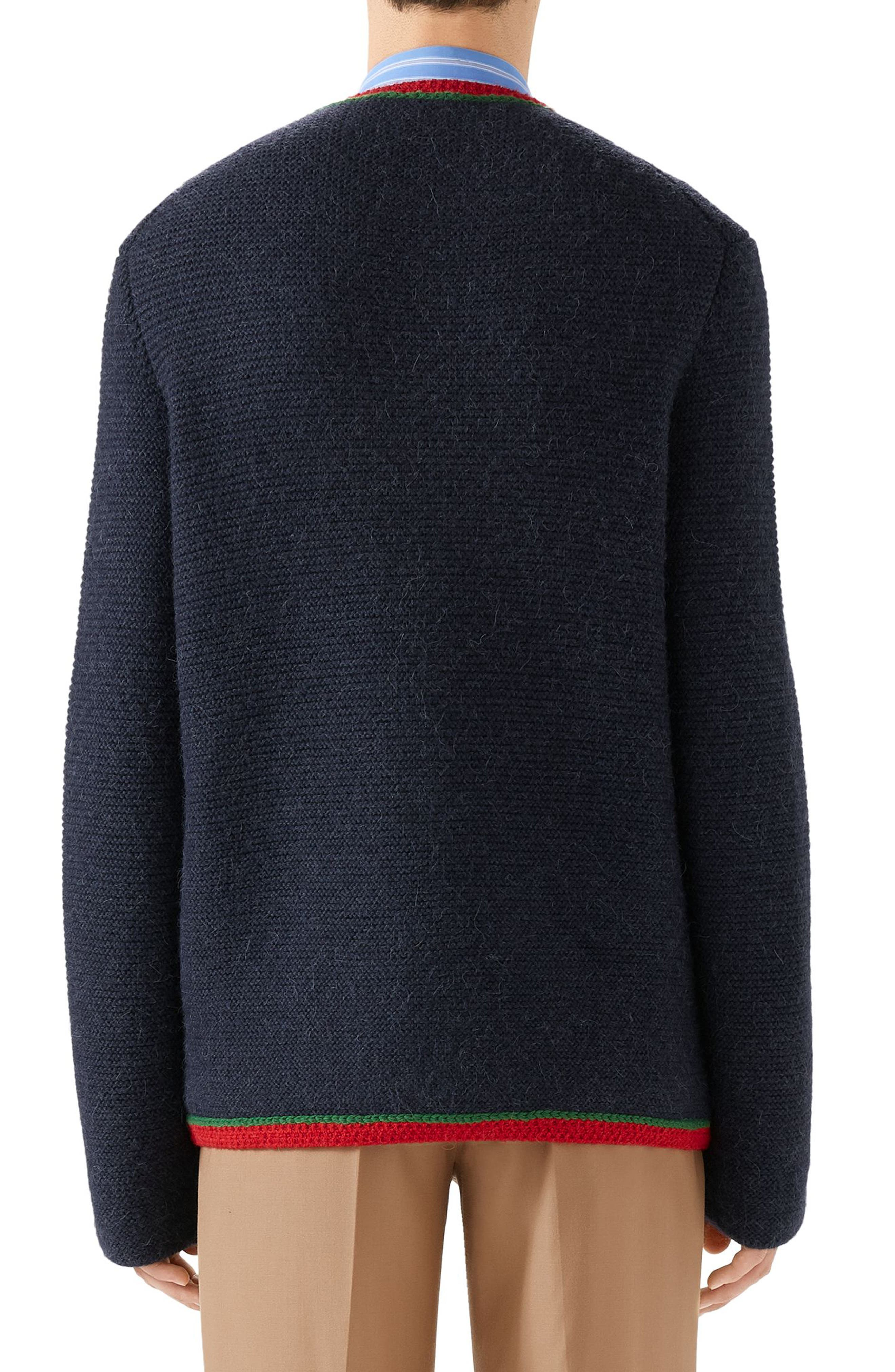 Wool Sweater,                             Alternate thumbnail 2, color,                             NAVY