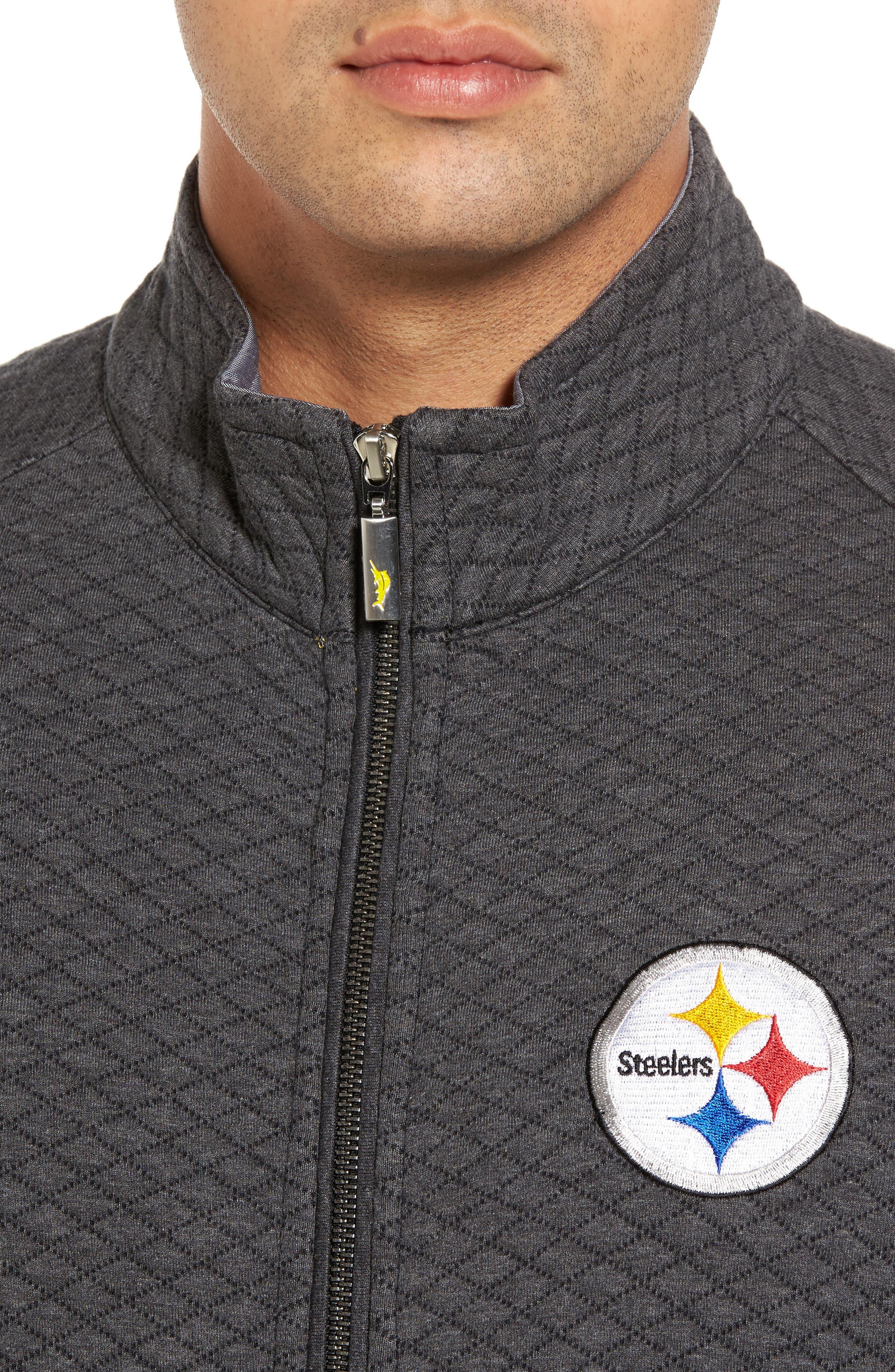 NFL Quiltessential Full Zip Sweatshirt,                             Alternate thumbnail 121, color,