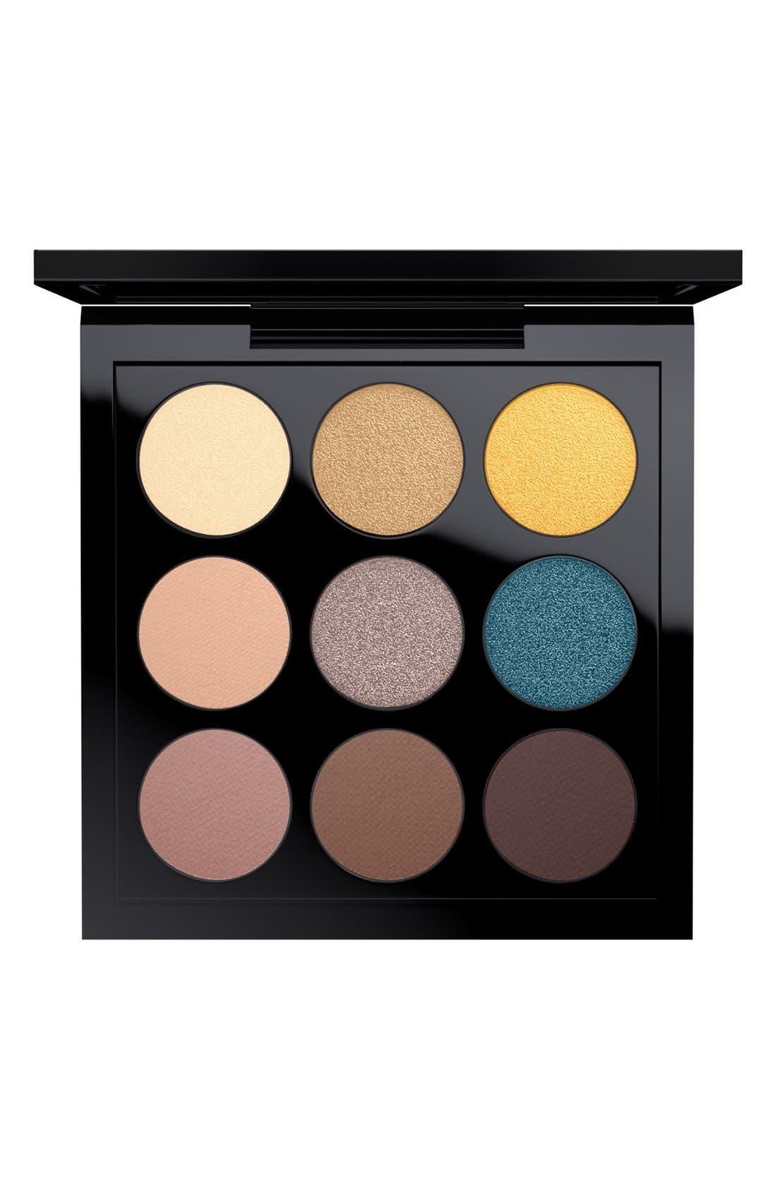 MAC Solar Glow Times Nine Eyeshadow Palette,                             Main thumbnail 8, color,