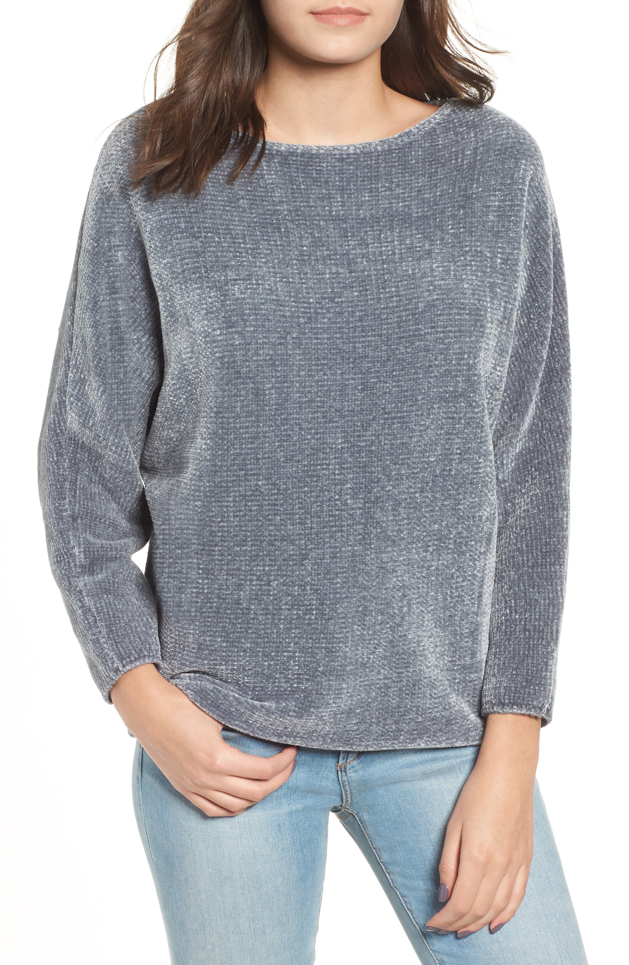 Dolman Chenille Sweater,                             Main thumbnail 1, color,                             400