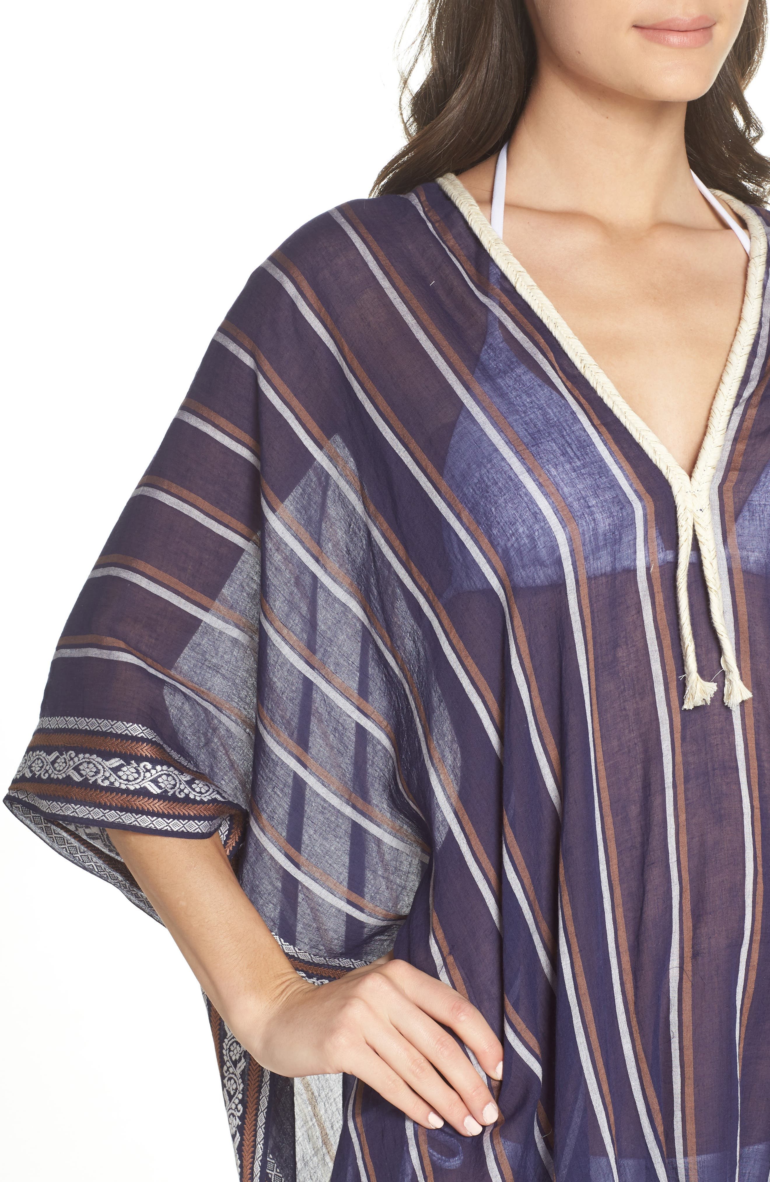 Cover-Up Tunic,                             Alternate thumbnail 4, color,                             NAVY