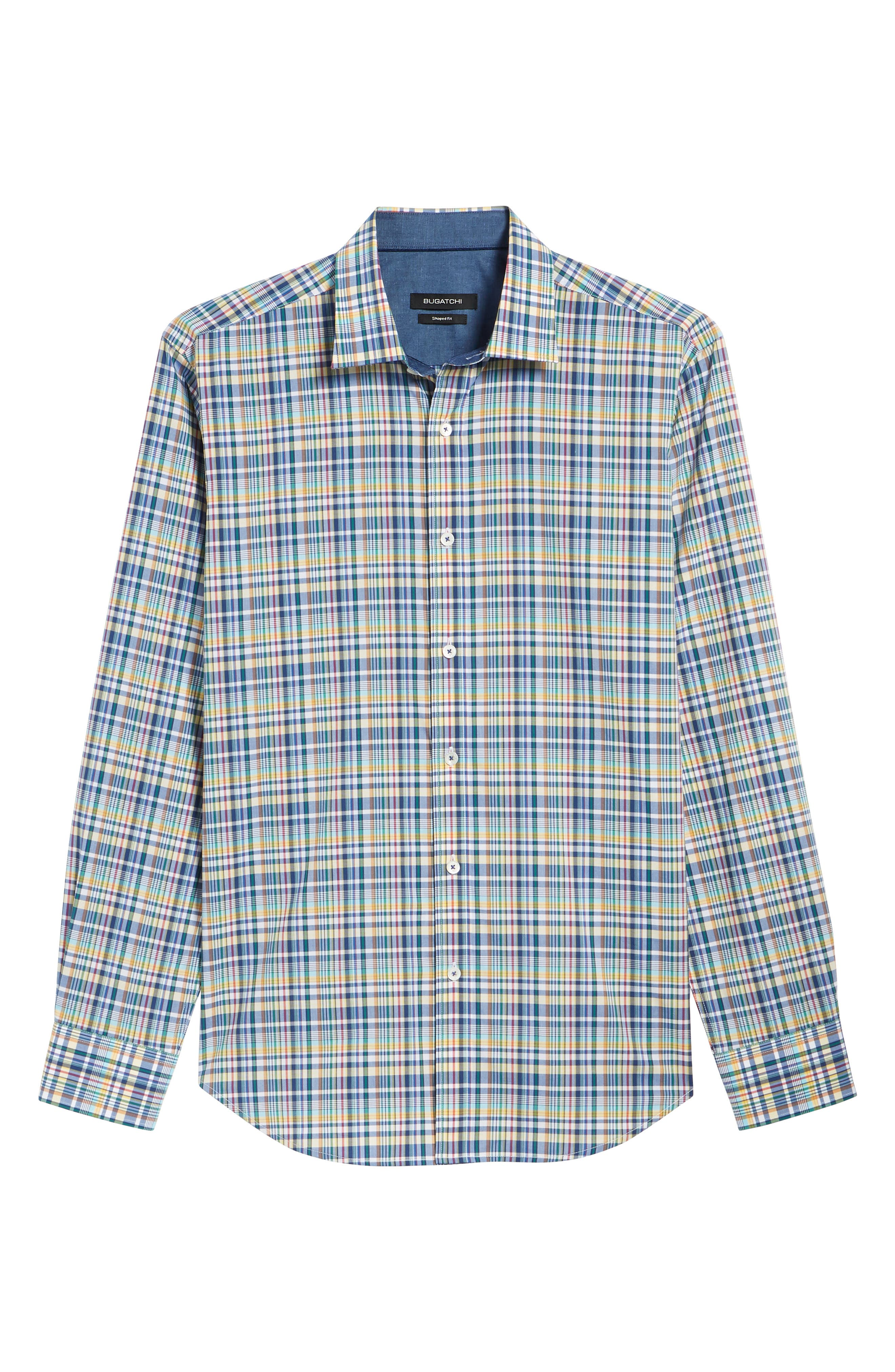 Woven Sport Shirt,                             Alternate thumbnail 6, color,